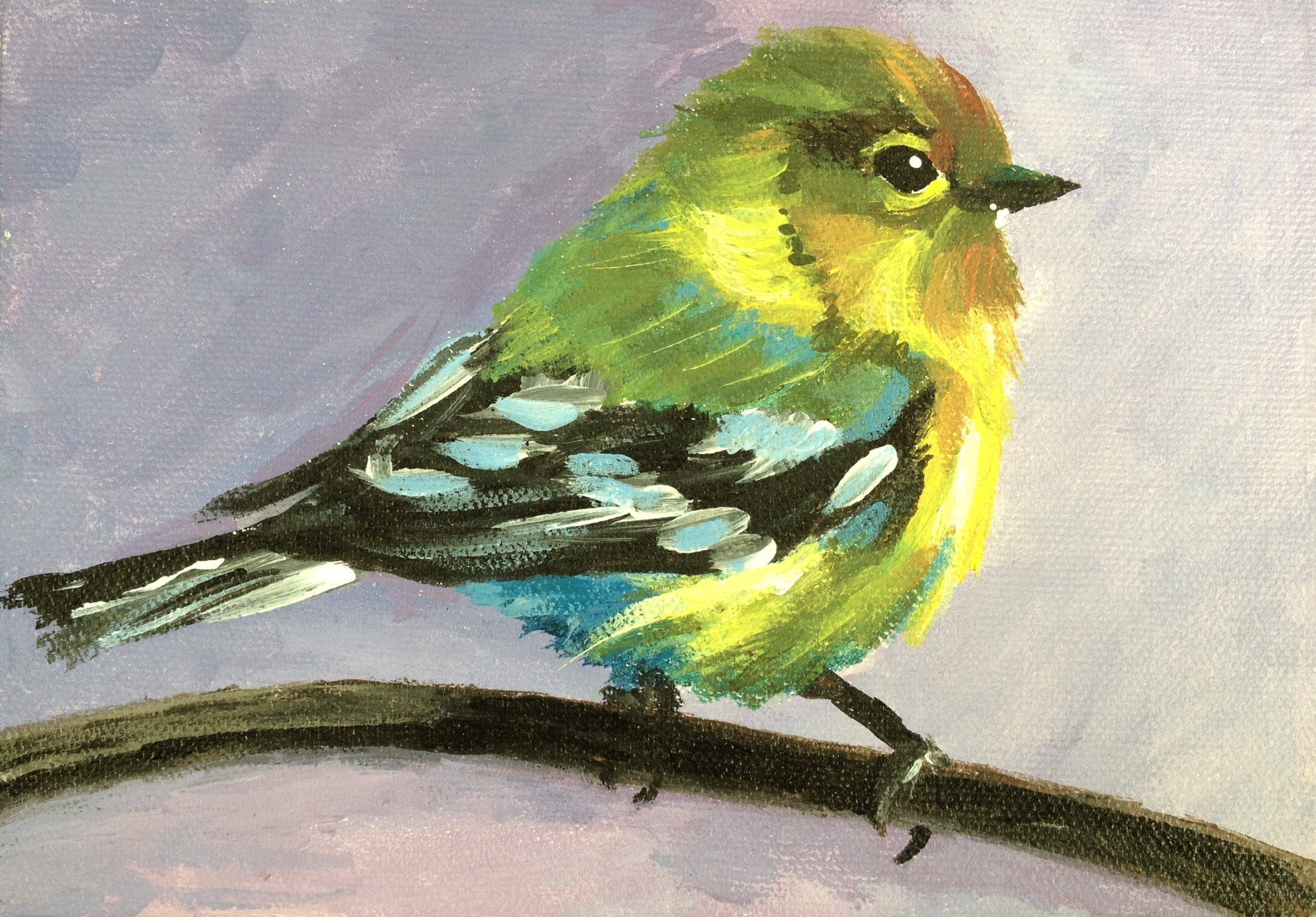 A Pretty Bird paint nite project by Yaymaker
