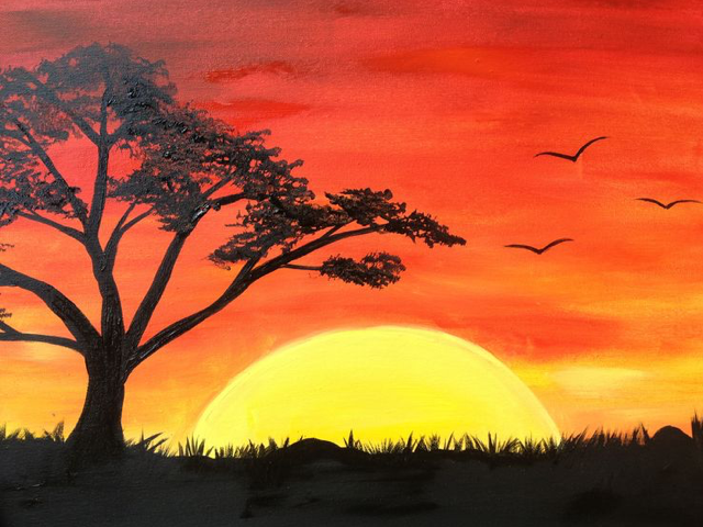 Paint Nite - 04/08/2020 - Virtual Event at Virtual Venue - Your Device, Kitchener-Waterloo ON, Kitchener, ON, CA | Yaymaker