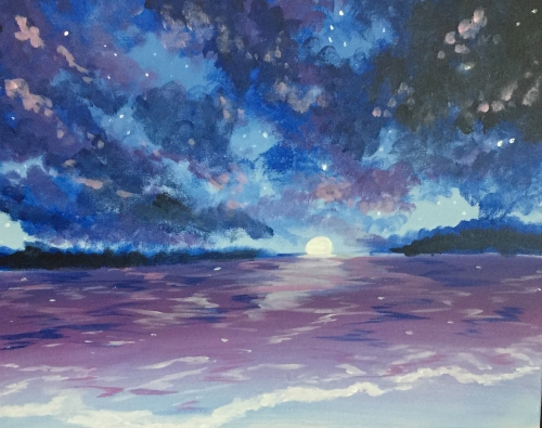 A Waves of light paint nite project by Yaymaker