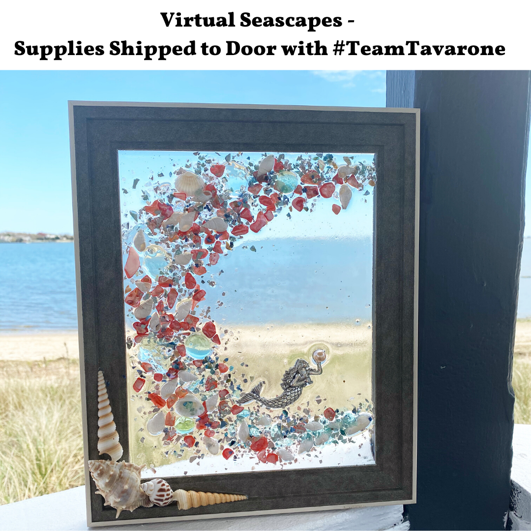 A Virtual Seascapes Supplies Shipped to Door with Team Tavarone experience project by Yaymaker