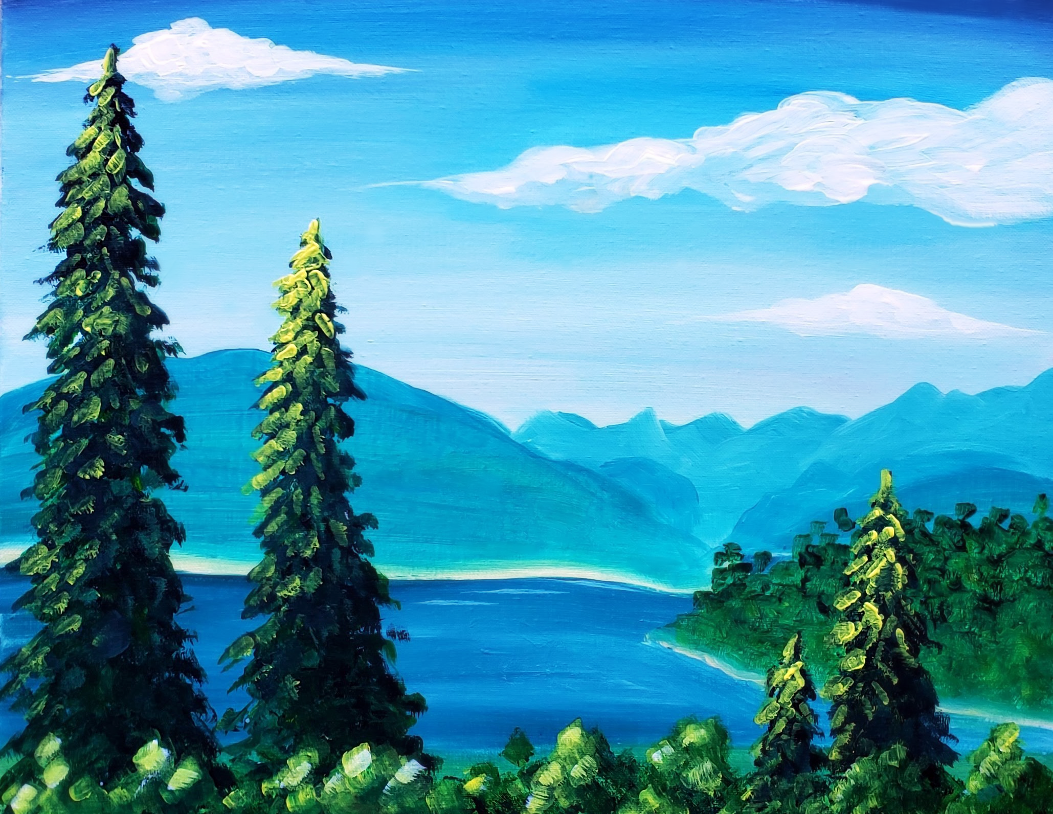 A West Coast Mountains on a Sunny Summer Day experience project by Yaymaker
