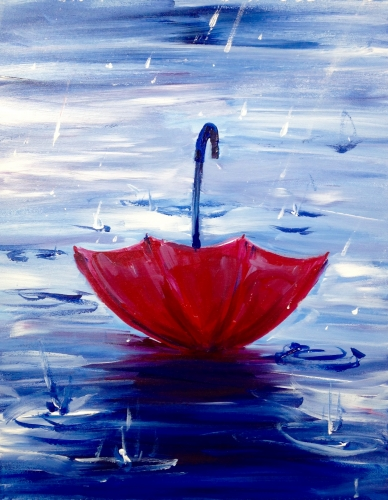 A When It Rains paint nite project by Yaymaker