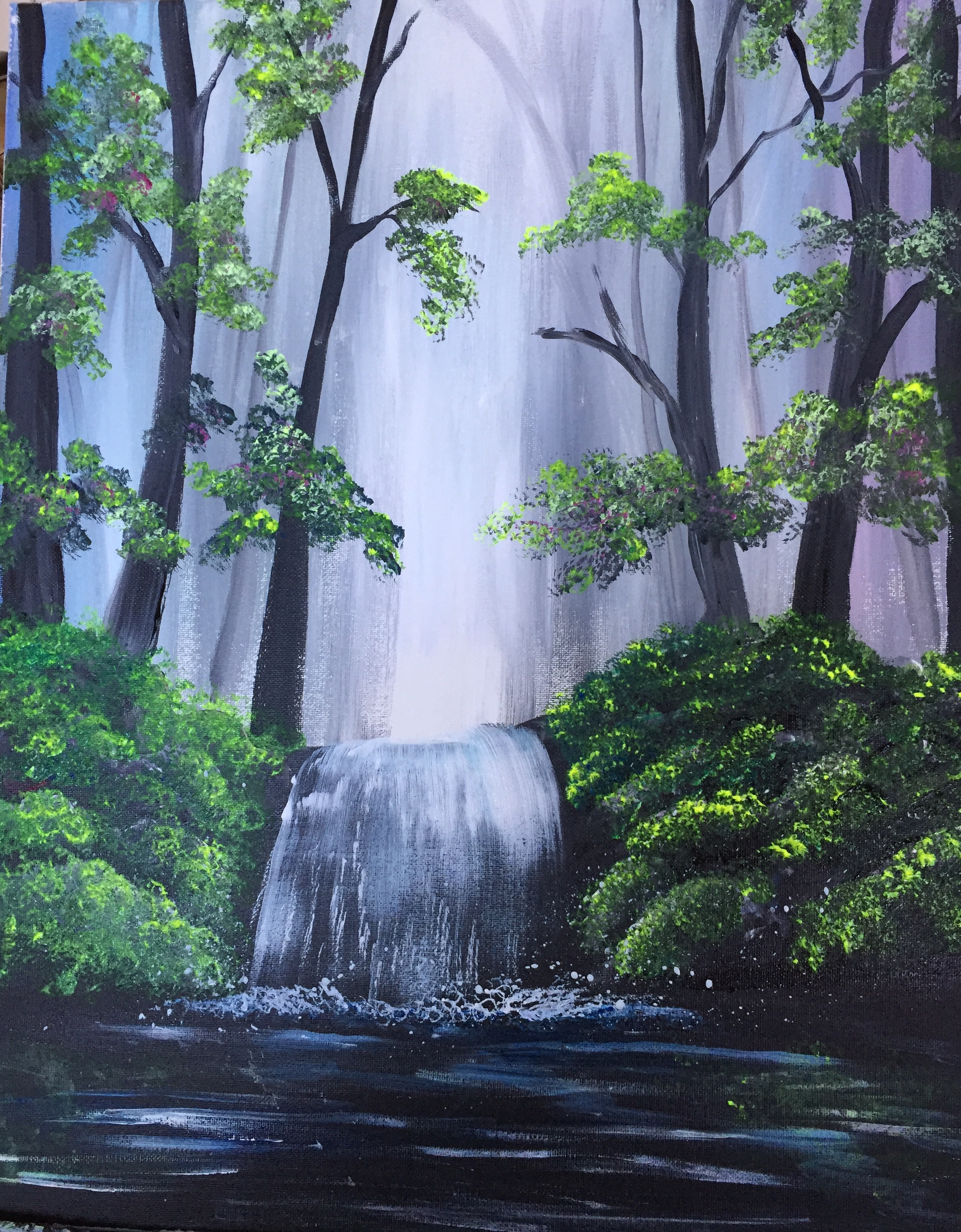 A Spring Melt Down paint nite project by Yaymaker