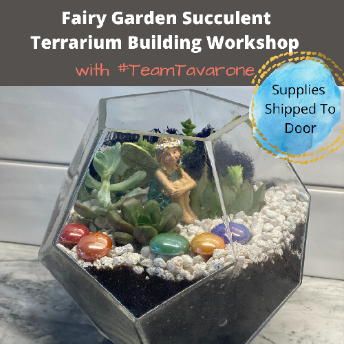 A Fairy Garden Workshop in Prism Bowl TeamTavarone experience project by Yaymaker