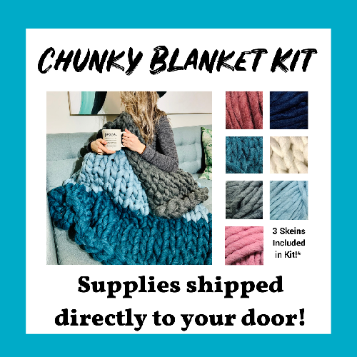 A Chunky Blanket Kit  Virtual experience project by Yaymaker