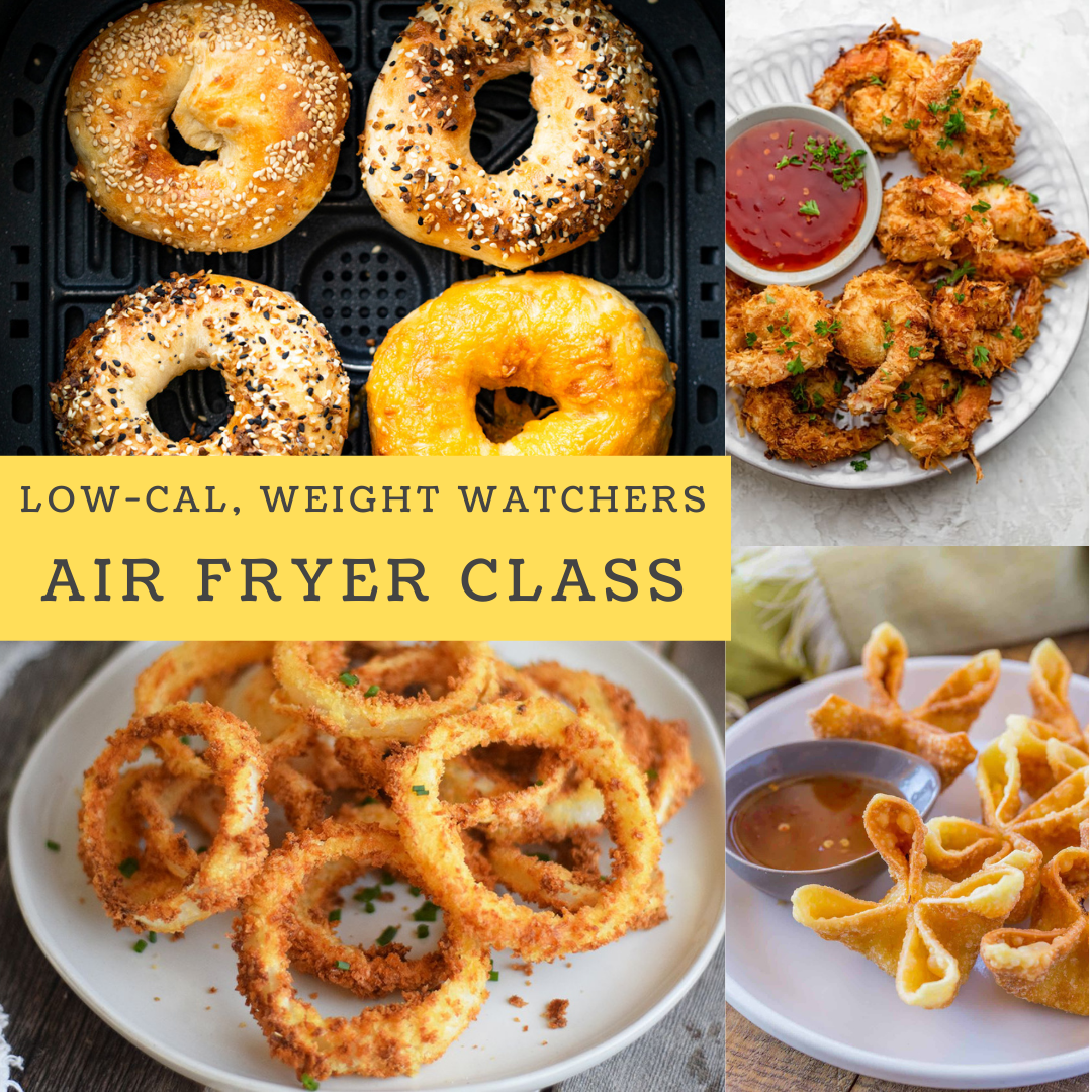 A Weight Watchers Air Fryer Class experience project by Yaymaker