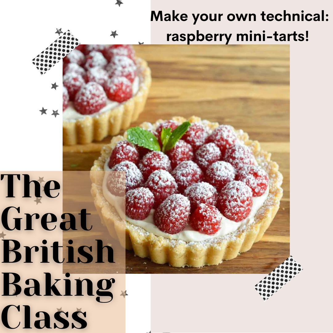 A The Great British Baking Class Raspberry Tarts experience project by Yaymaker