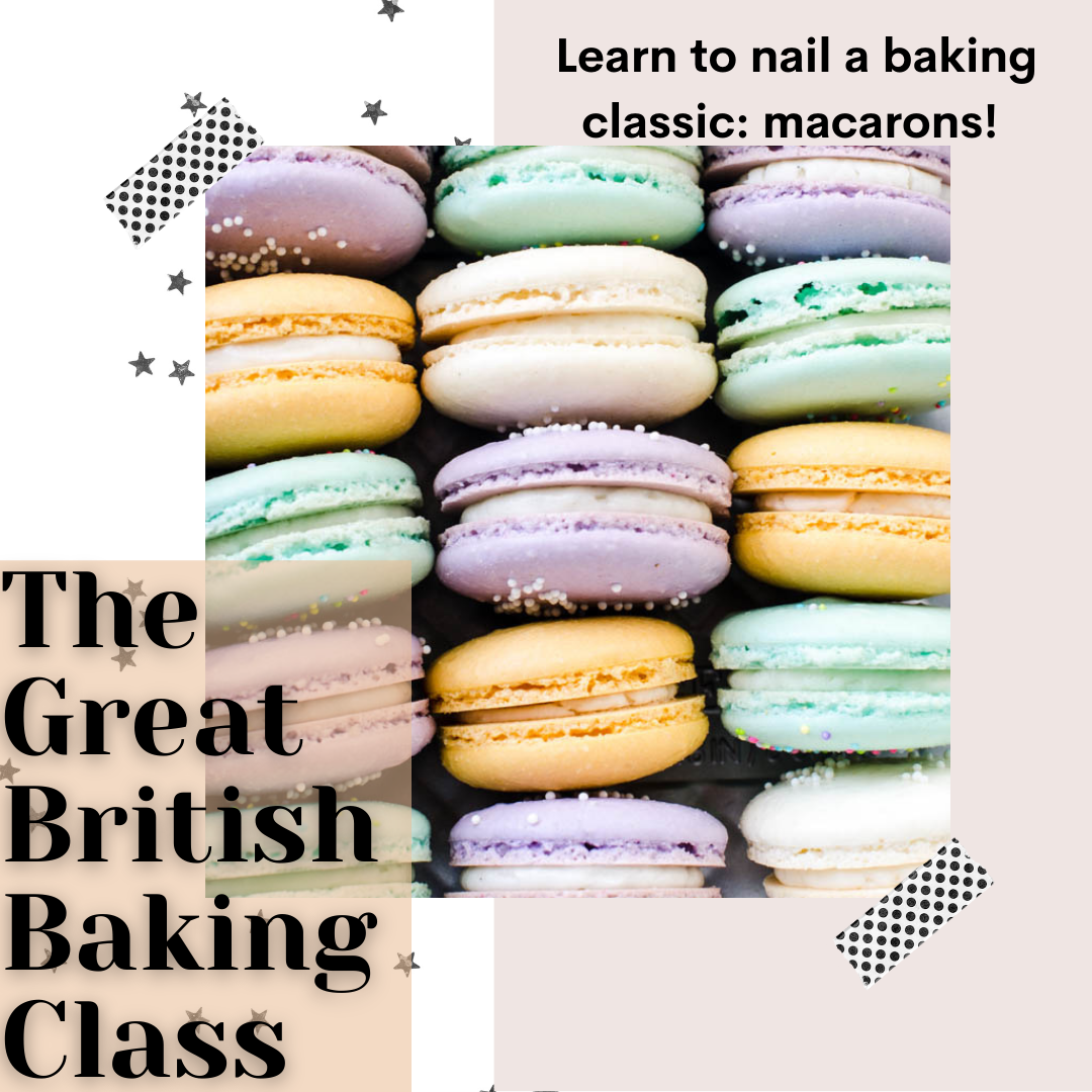 A The Great British Baking Class Macarons experience project by Yaymaker