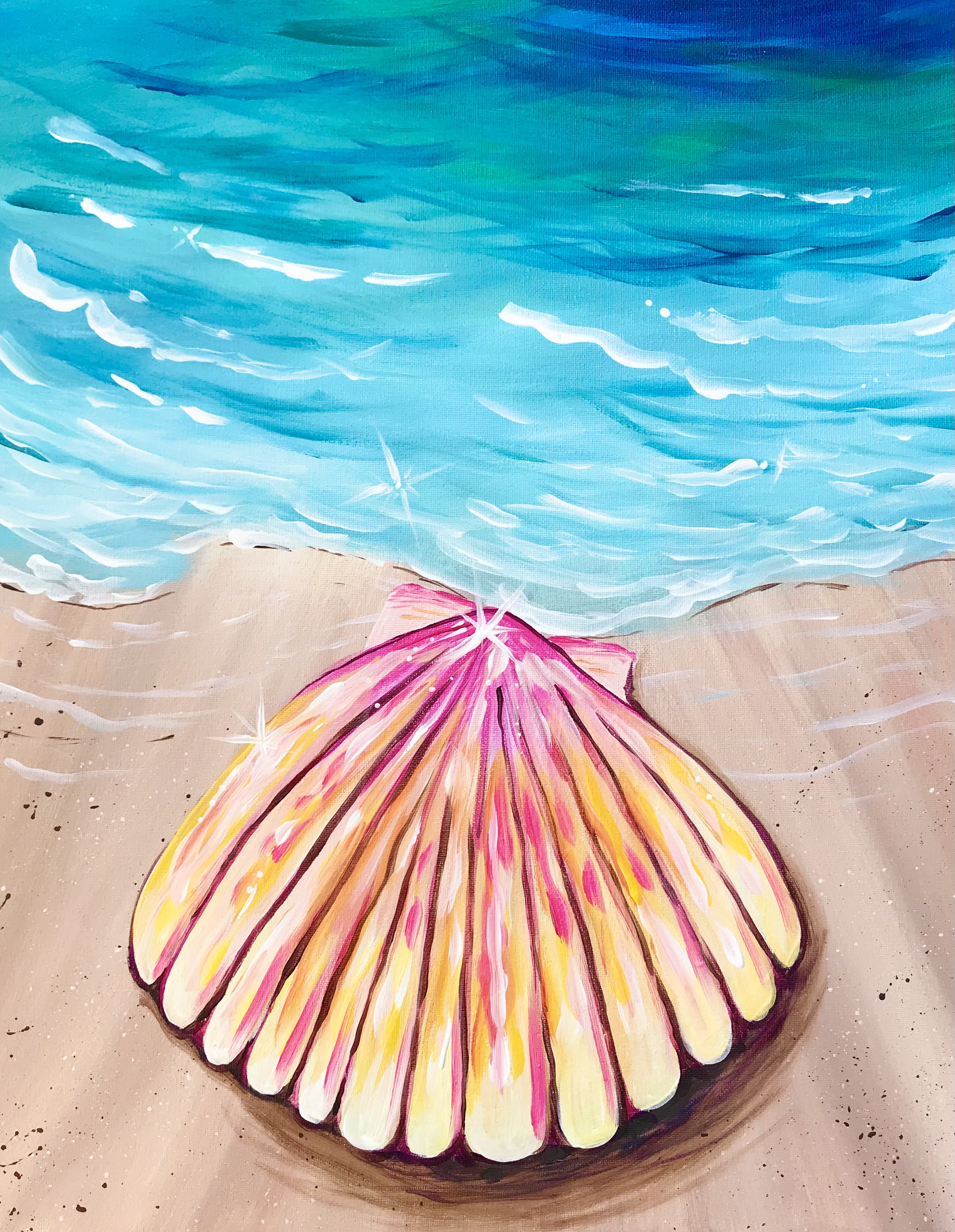 A Scallop Seashell experience project by Yaymaker