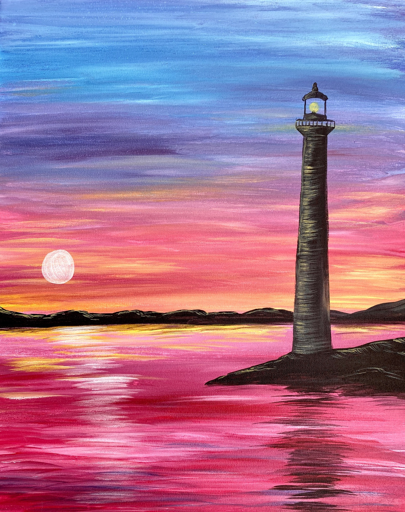 A Rainbow Lighthouse Sunset experience project by Yaymaker