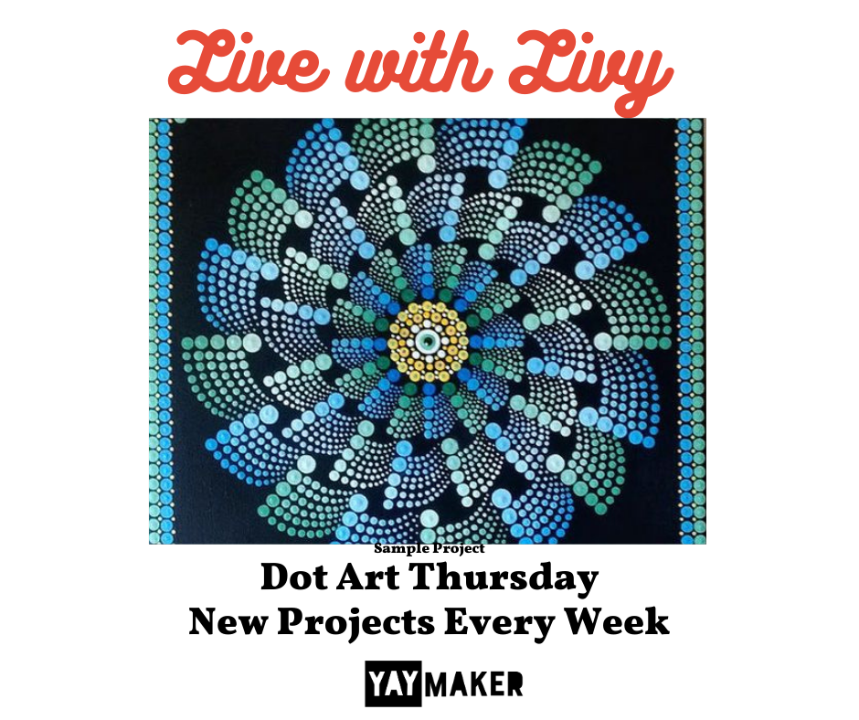 A Live with Livy Dot Art Events experience project by Yaymaker