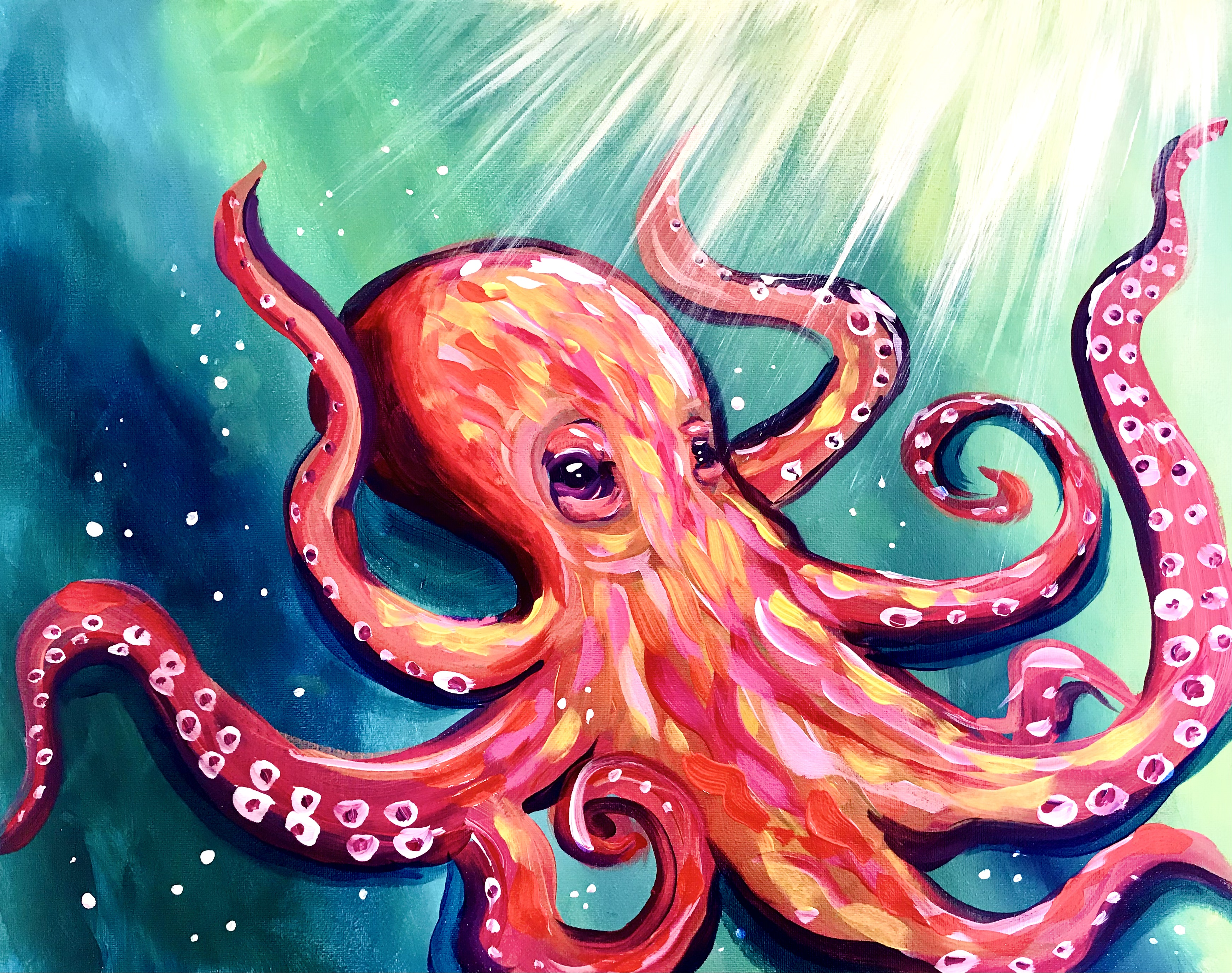 A Orange Octopus experience project by Yaymaker