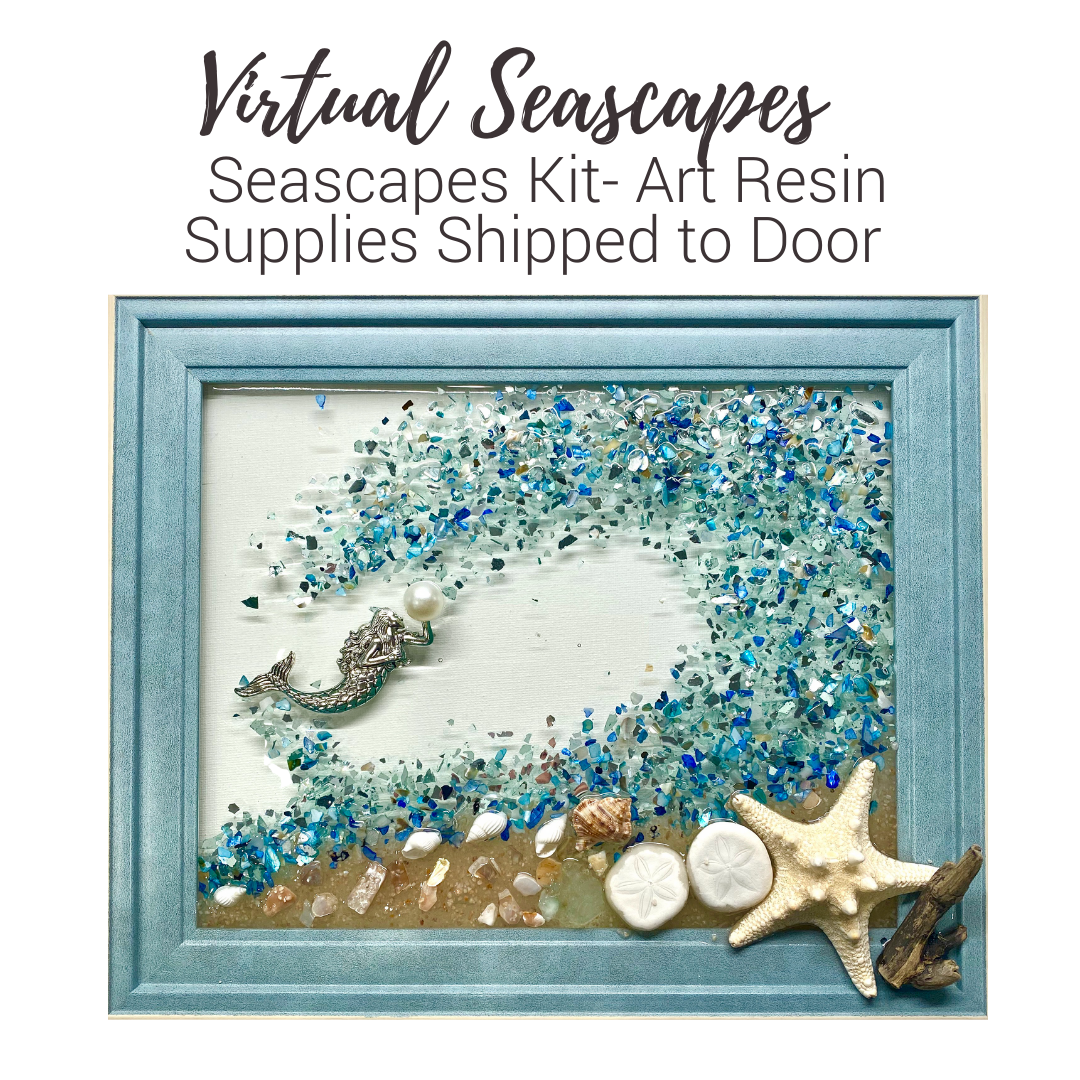 A Virtual Seascapes with Mermaid  Supplies Shipped to Door experience project by Yaymaker