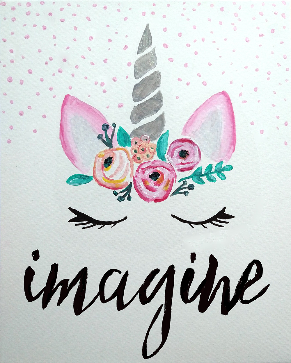 A Imagine Unicorn Lashes experience project by Yaymaker