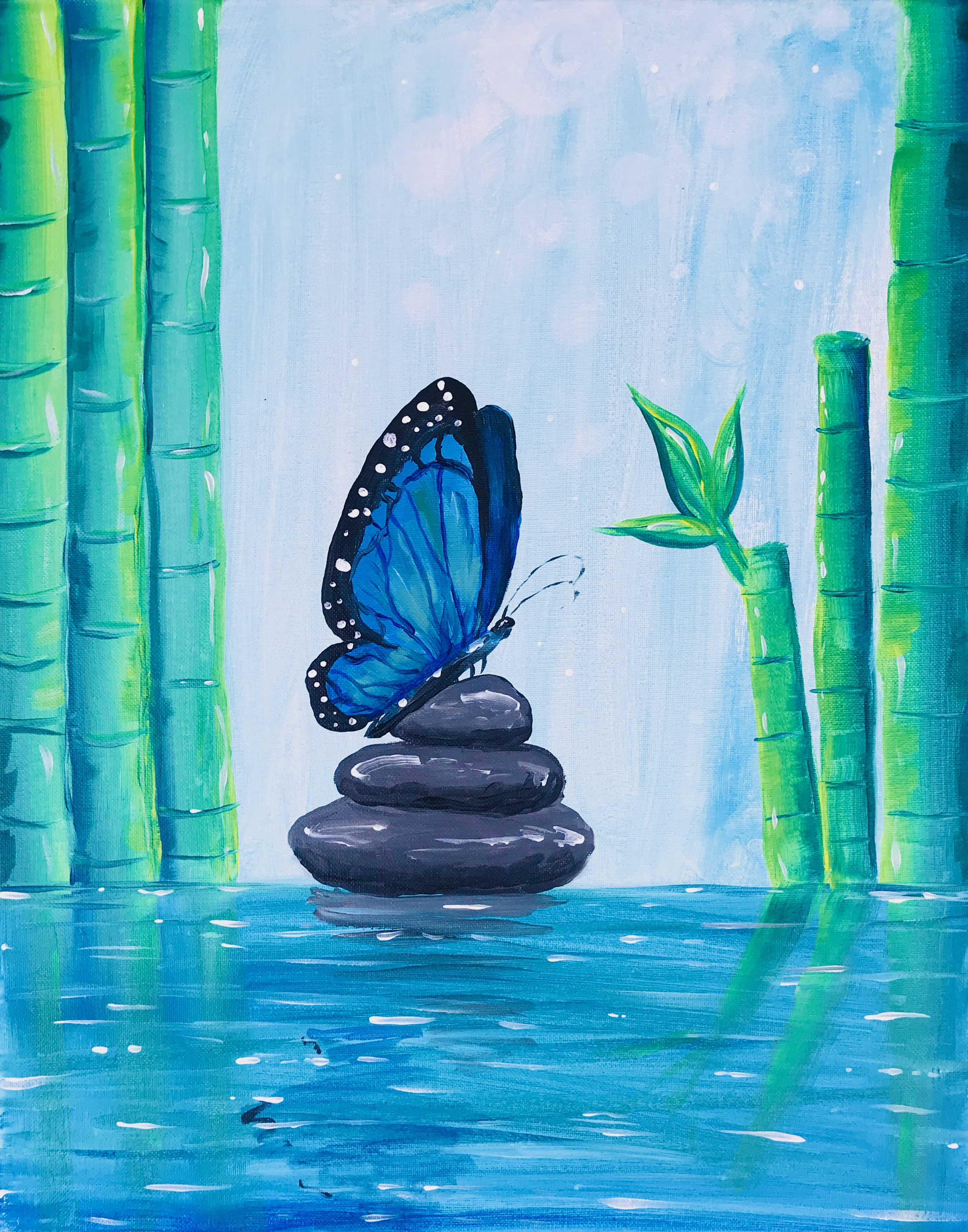 A Zen Blue Butterfly experience project by Yaymaker
