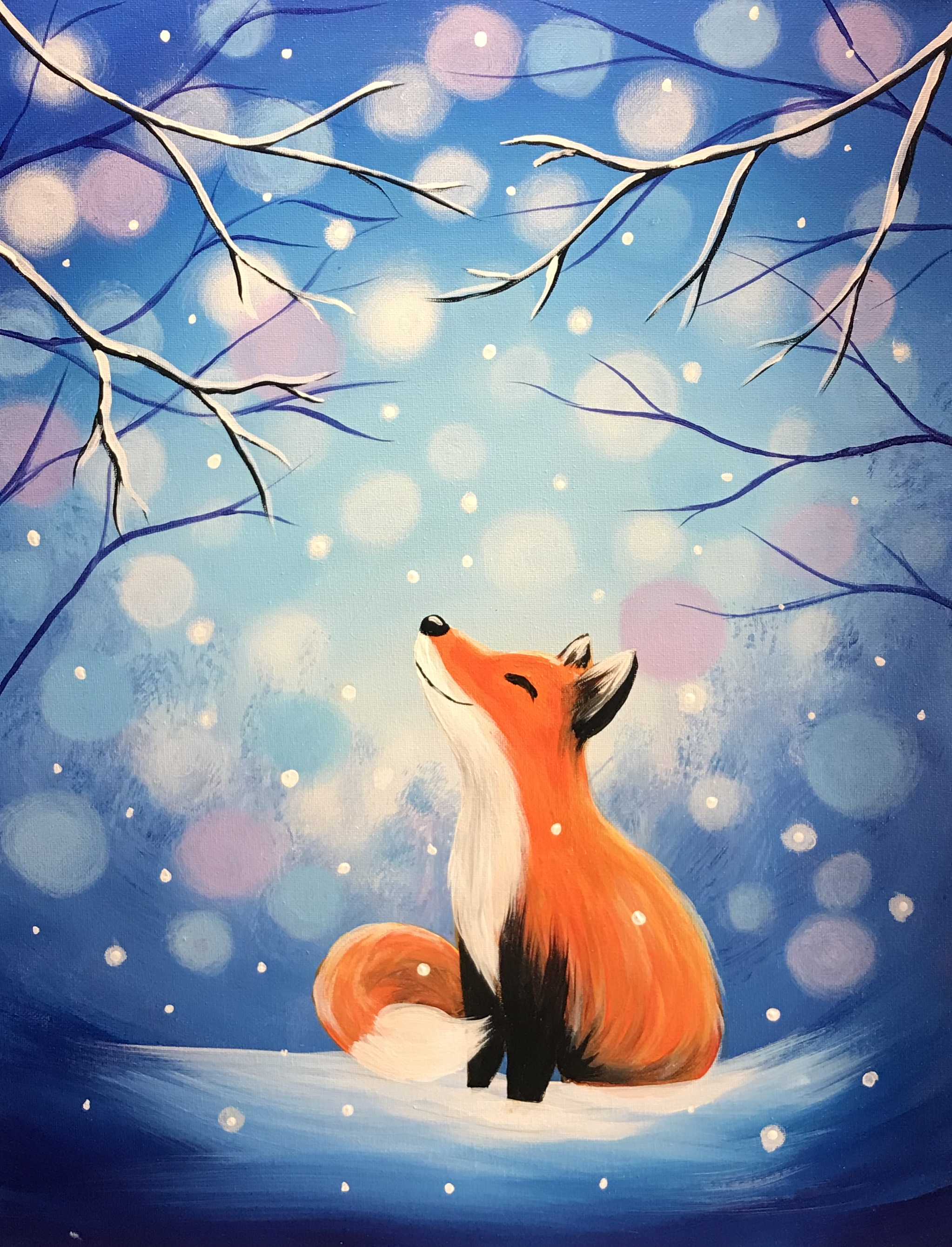 A Snow Fox Given experience project by Yaymaker