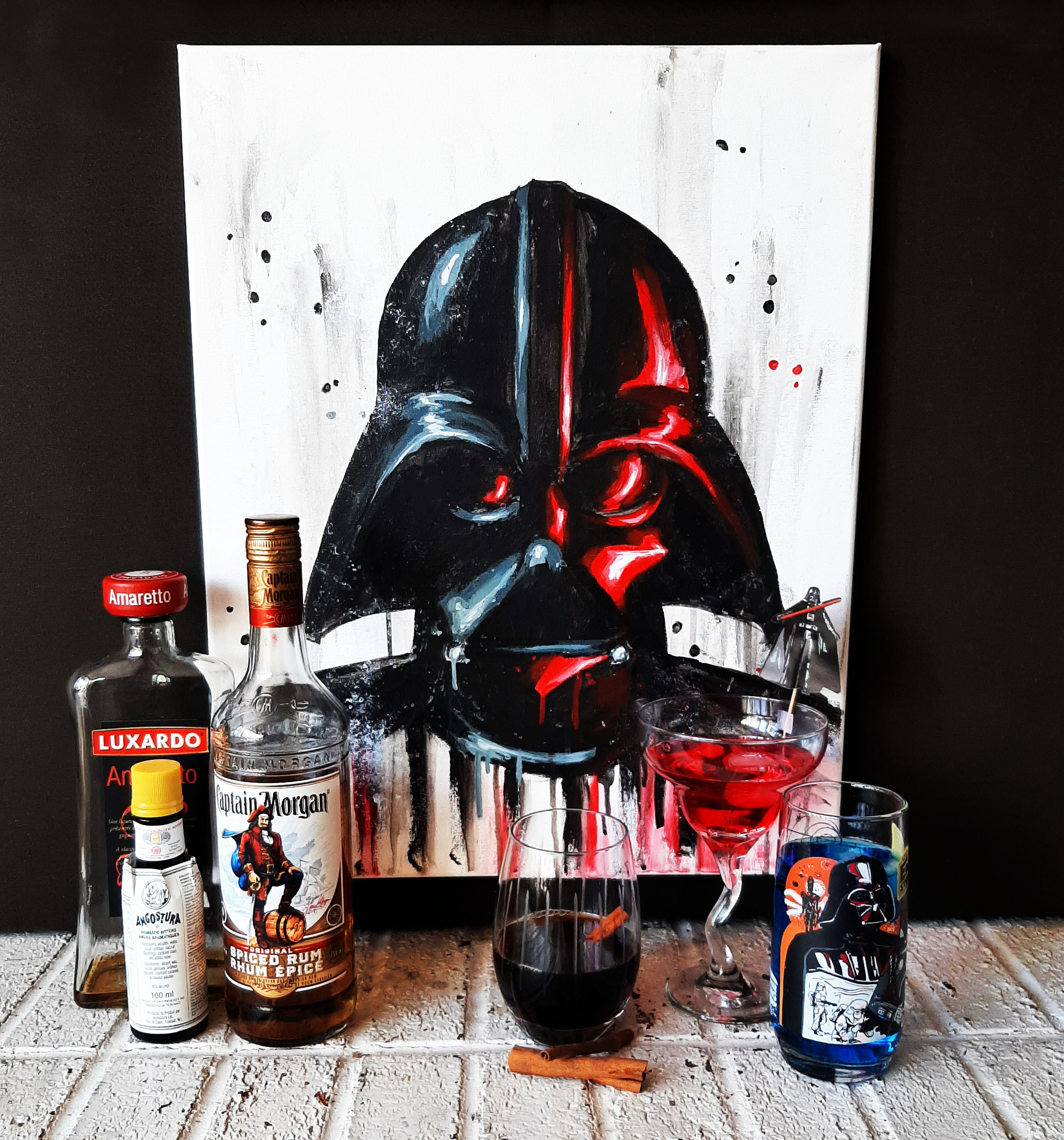 A Vader Painting and Mixology experience project by Yaymaker