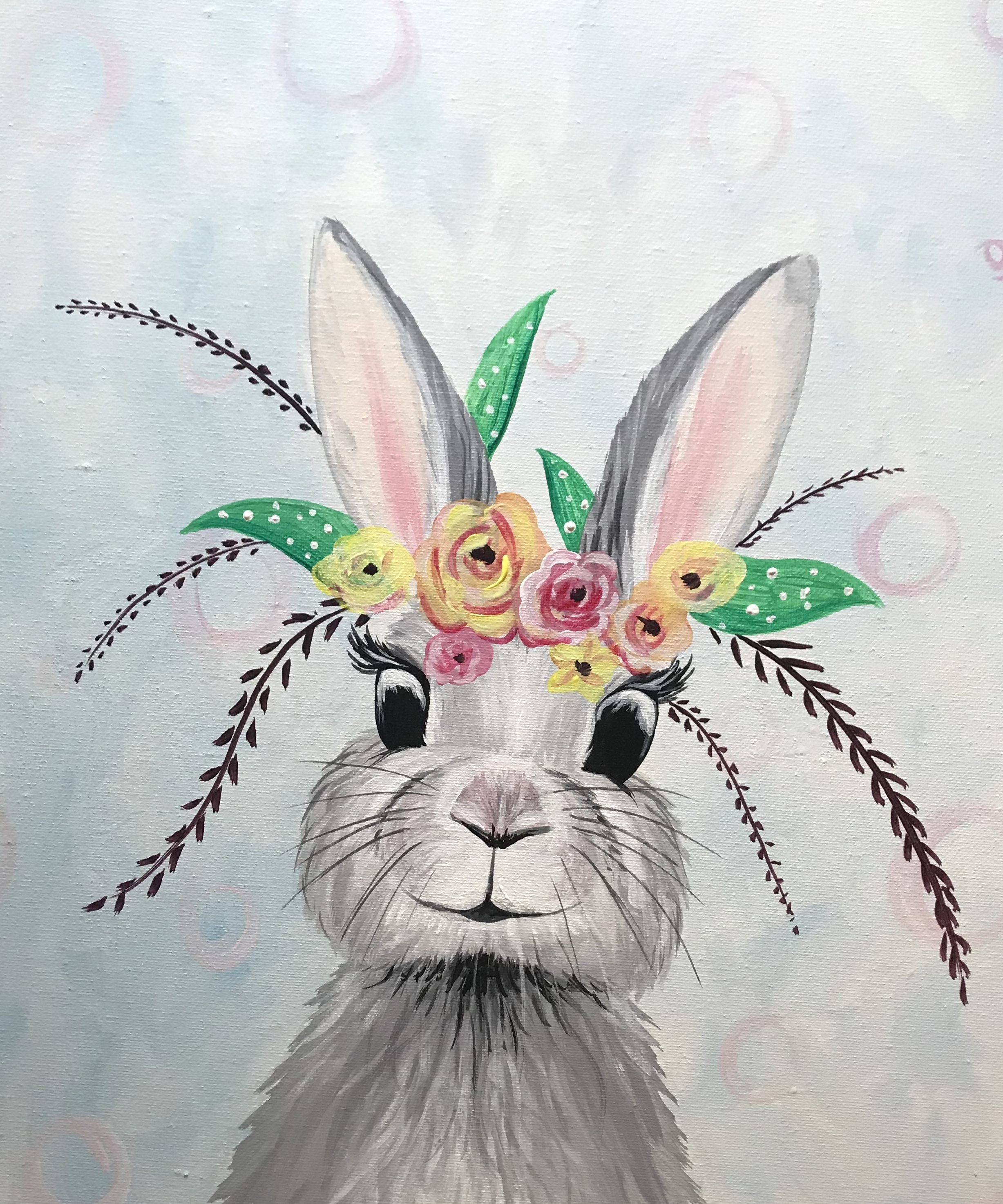 A Floral Bunny experience project by Yaymaker