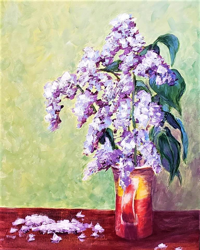 A Spring lilacs bouquet experience project by Yaymaker