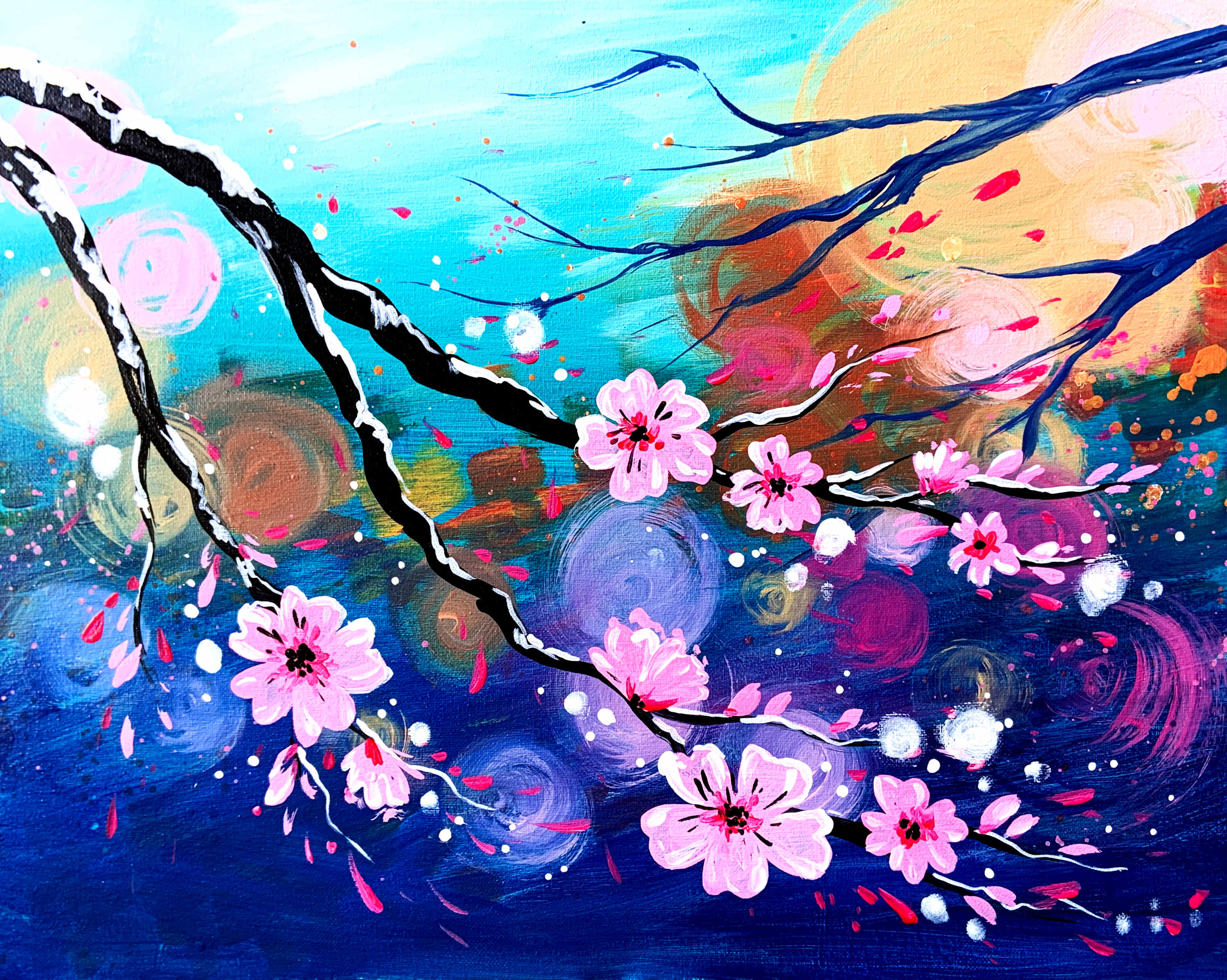 A Electric Cherry Blossom experience project by Yaymaker