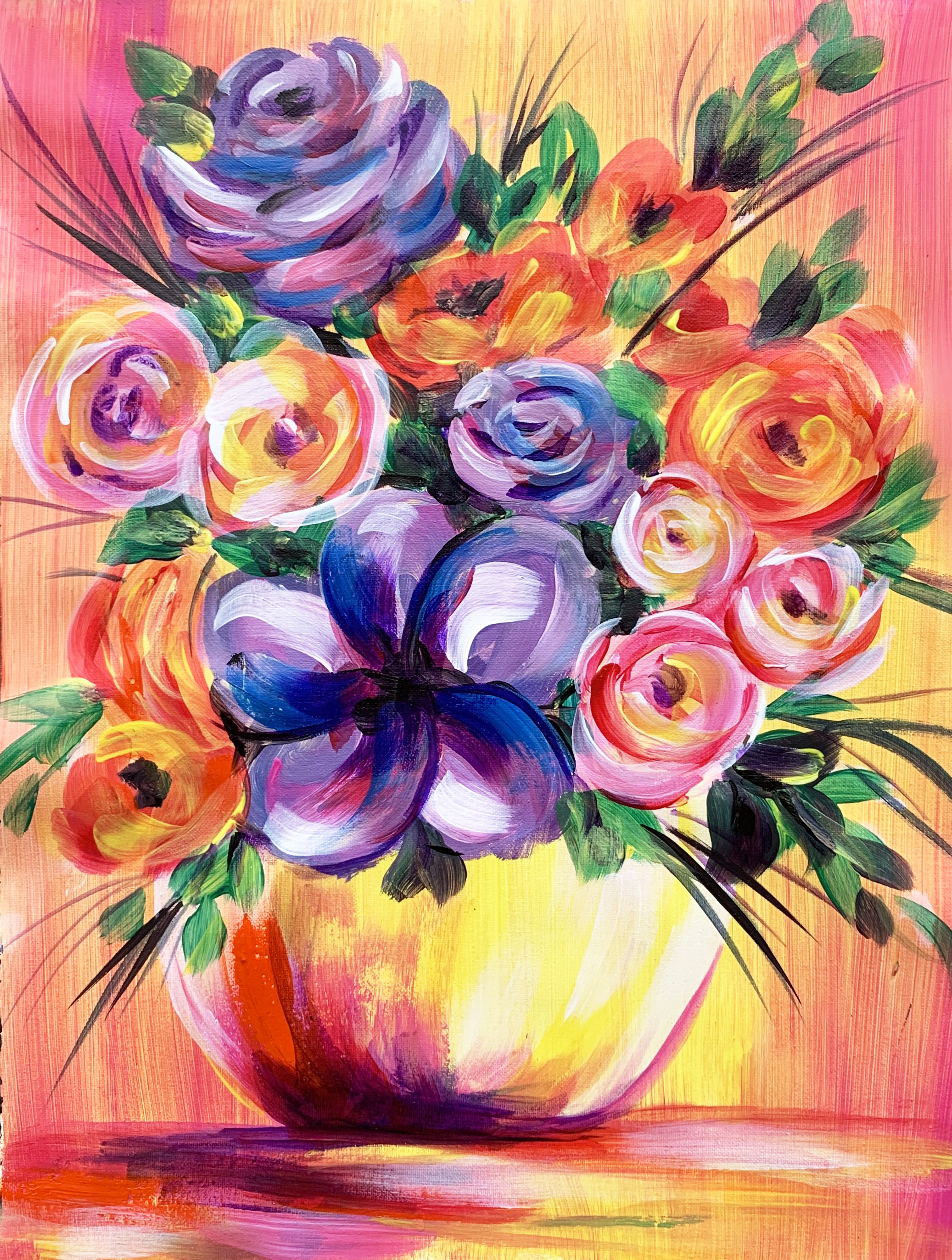 A Vibrant Flower Bouquet experience project by Yaymaker