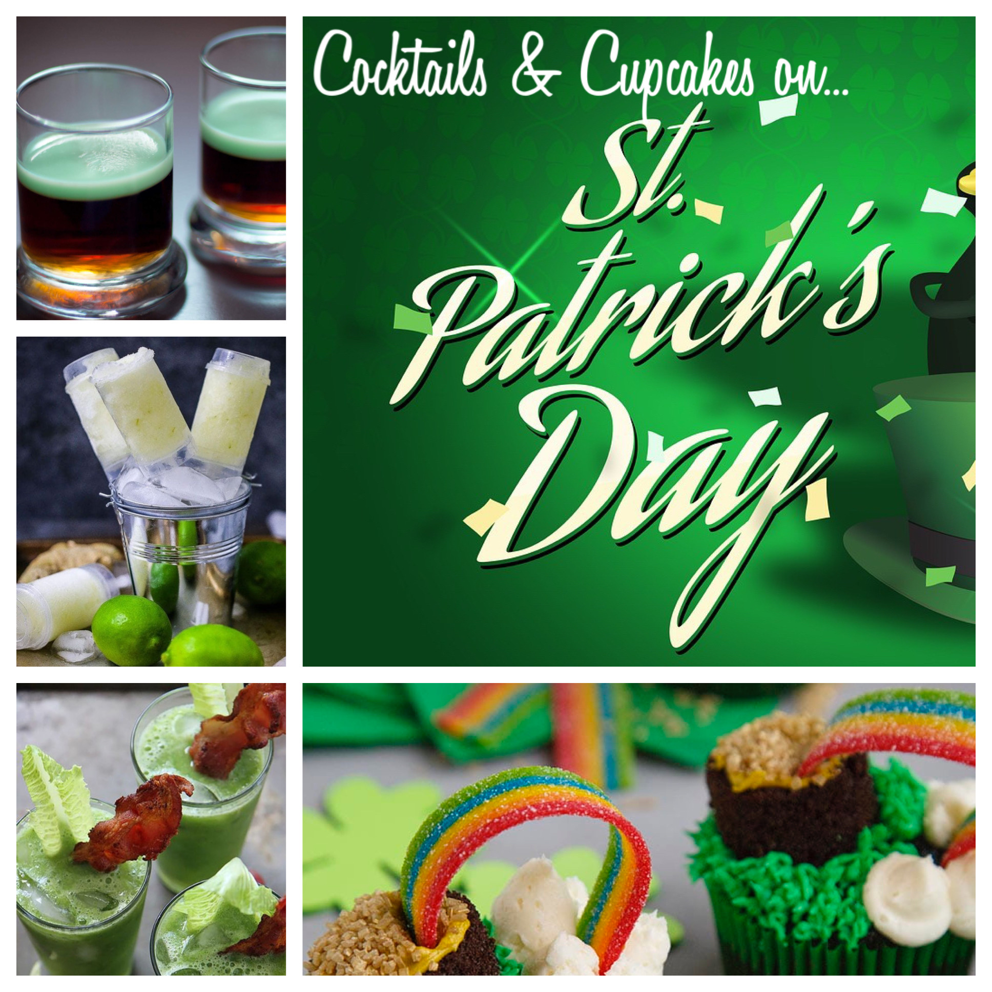 A St Patricks Day Cocktails and Cupcakes experience project by Yaymaker