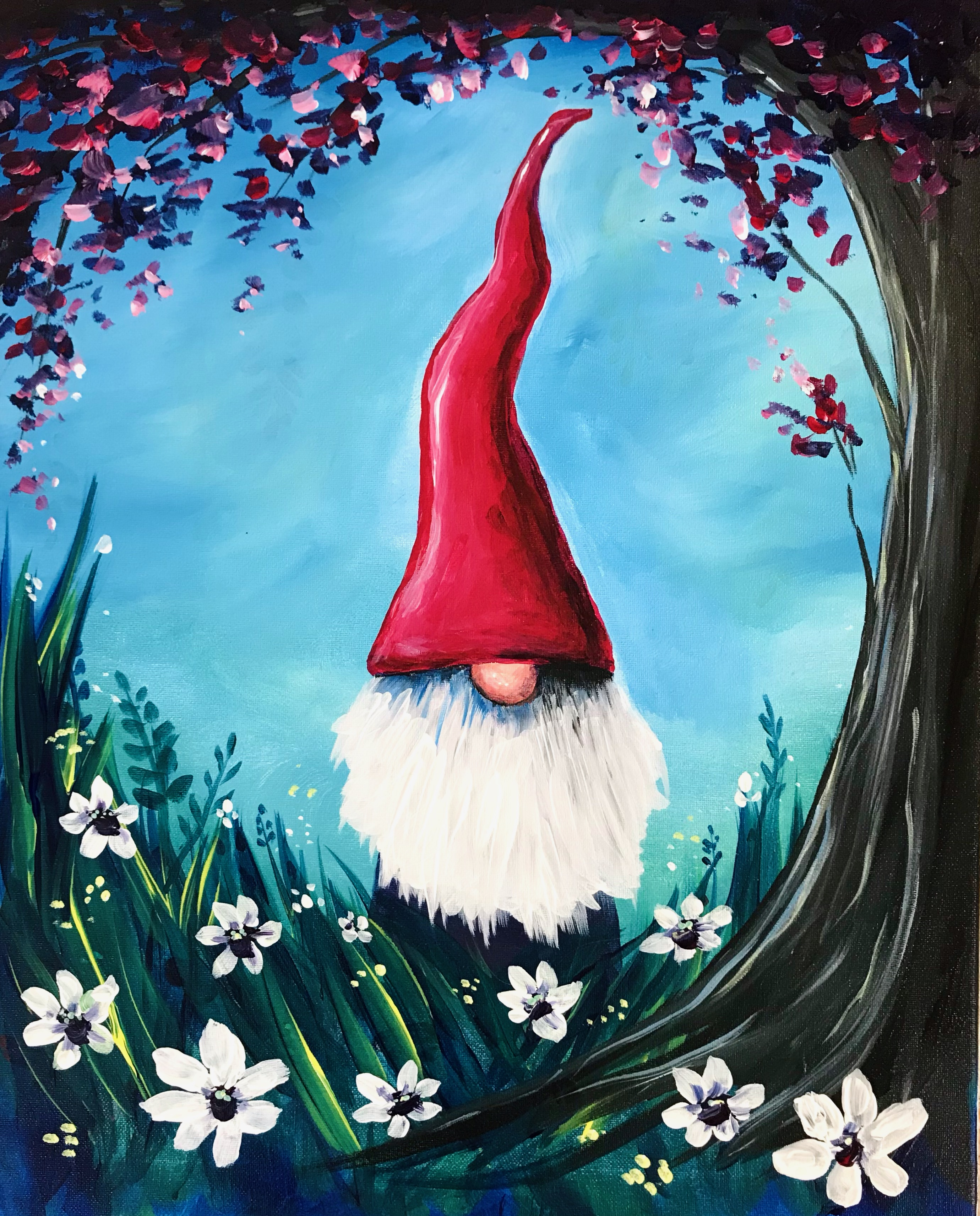 A Gnome for Spring experience project by Yaymaker