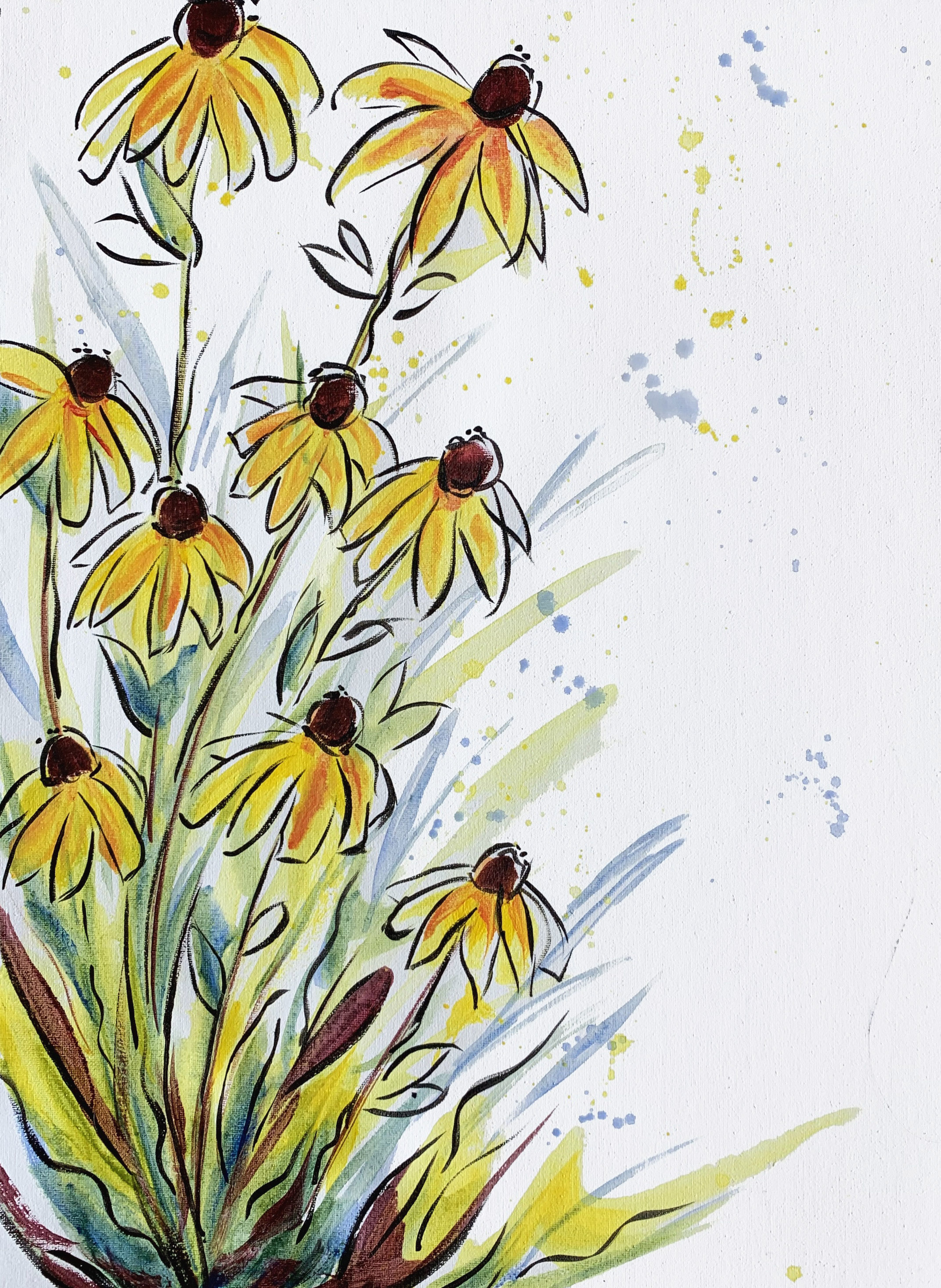 A Blooming Cone Flowers experience project by Yaymaker