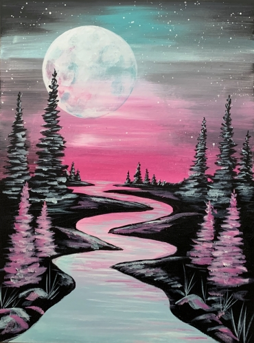 A Moonrise Over The River experience project by Yaymaker