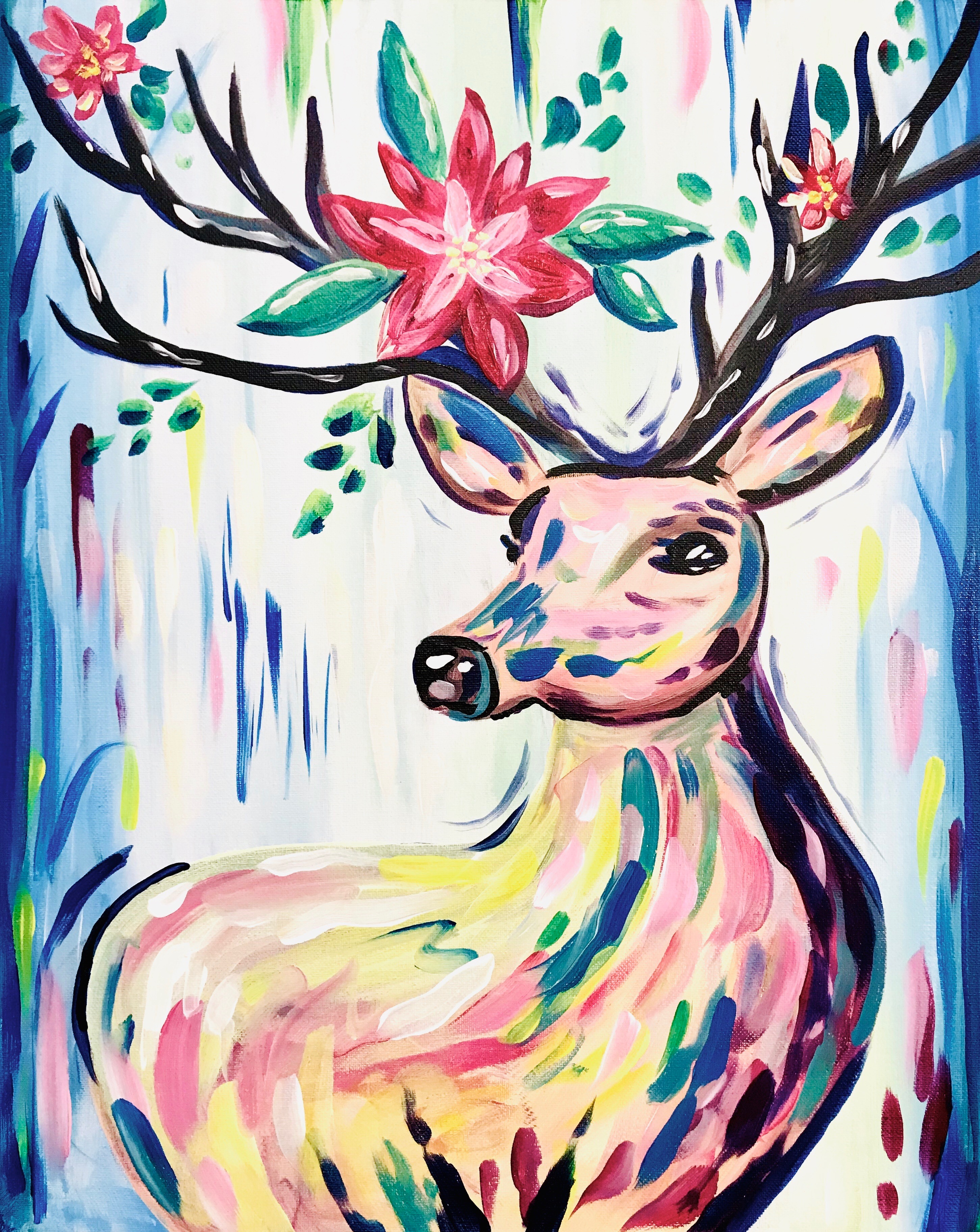 A Reindeer Blossoms experience project by Yaymaker