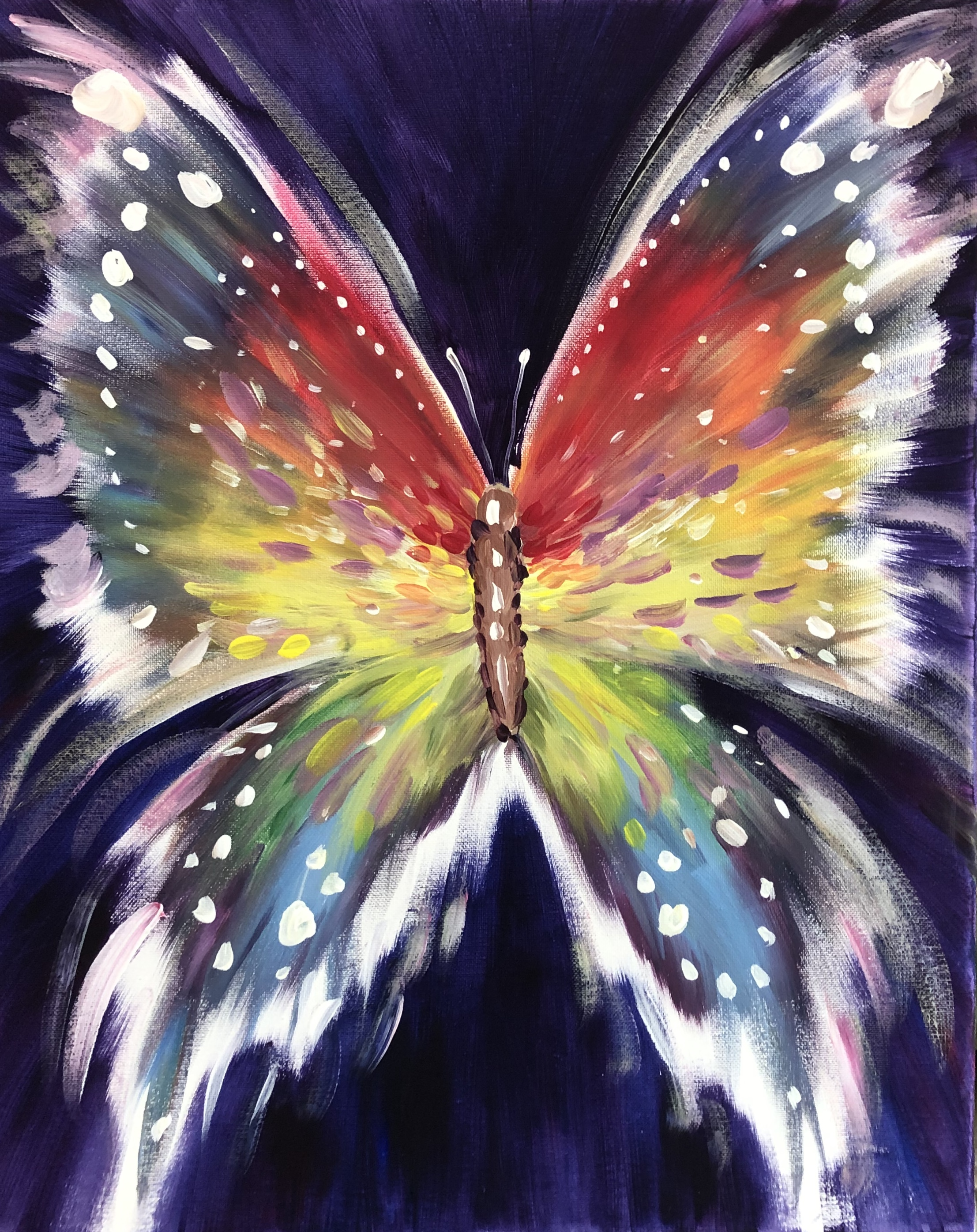 A Rainbow Butterfly Dream experience project by Yaymaker