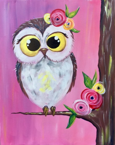 A Spring Owl Cutie with JOANN experience project by Yaymaker