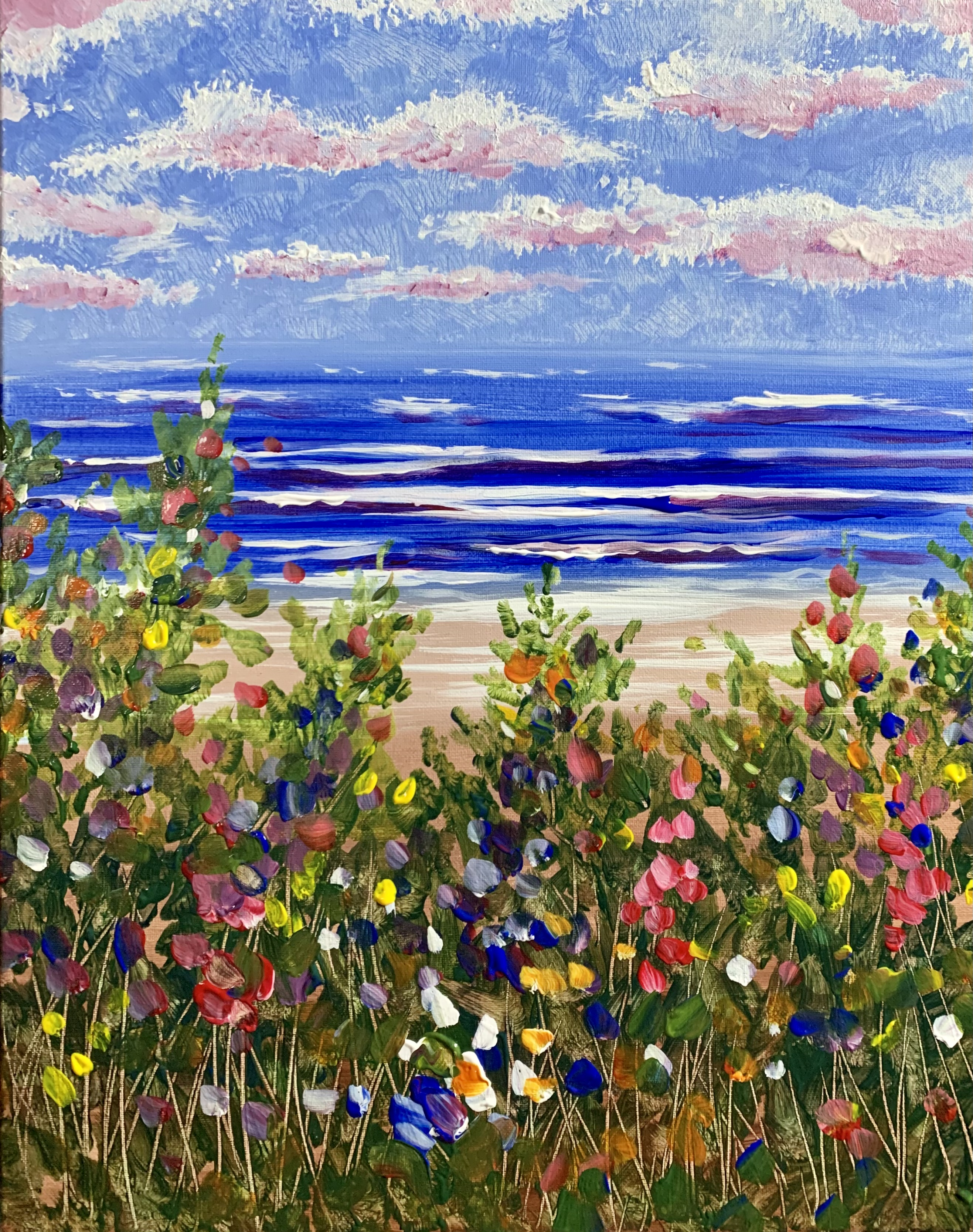 A Beachside Wildflowers experience project by Yaymaker