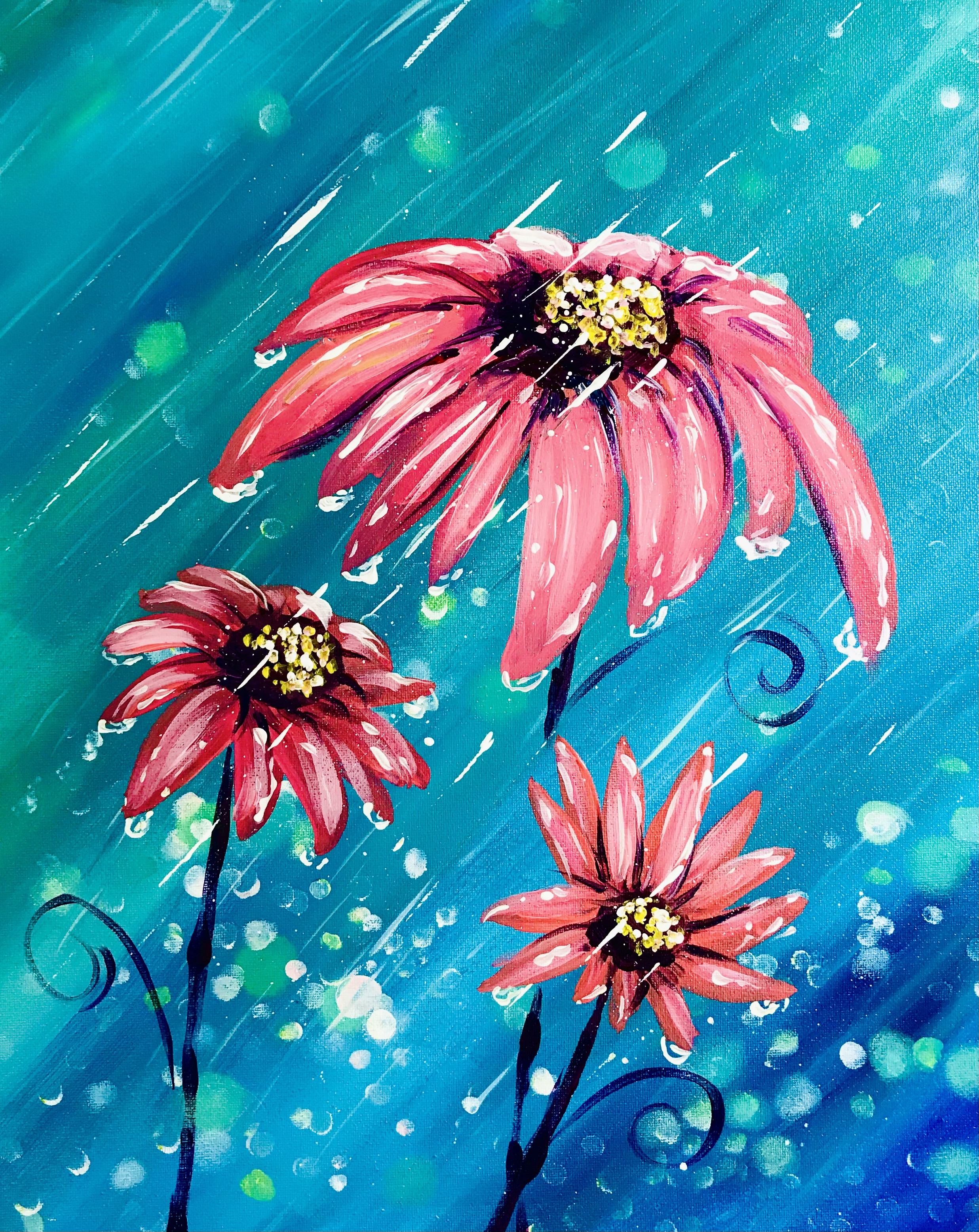A Rainy Daisies experience project by Yaymaker