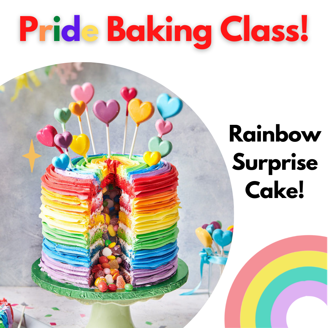 A PRIDE Charity Baking Class experience project by Yaymaker