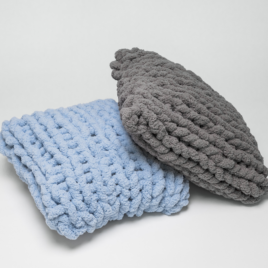 A Chunky Chenille Pillows experience project by Yaymaker