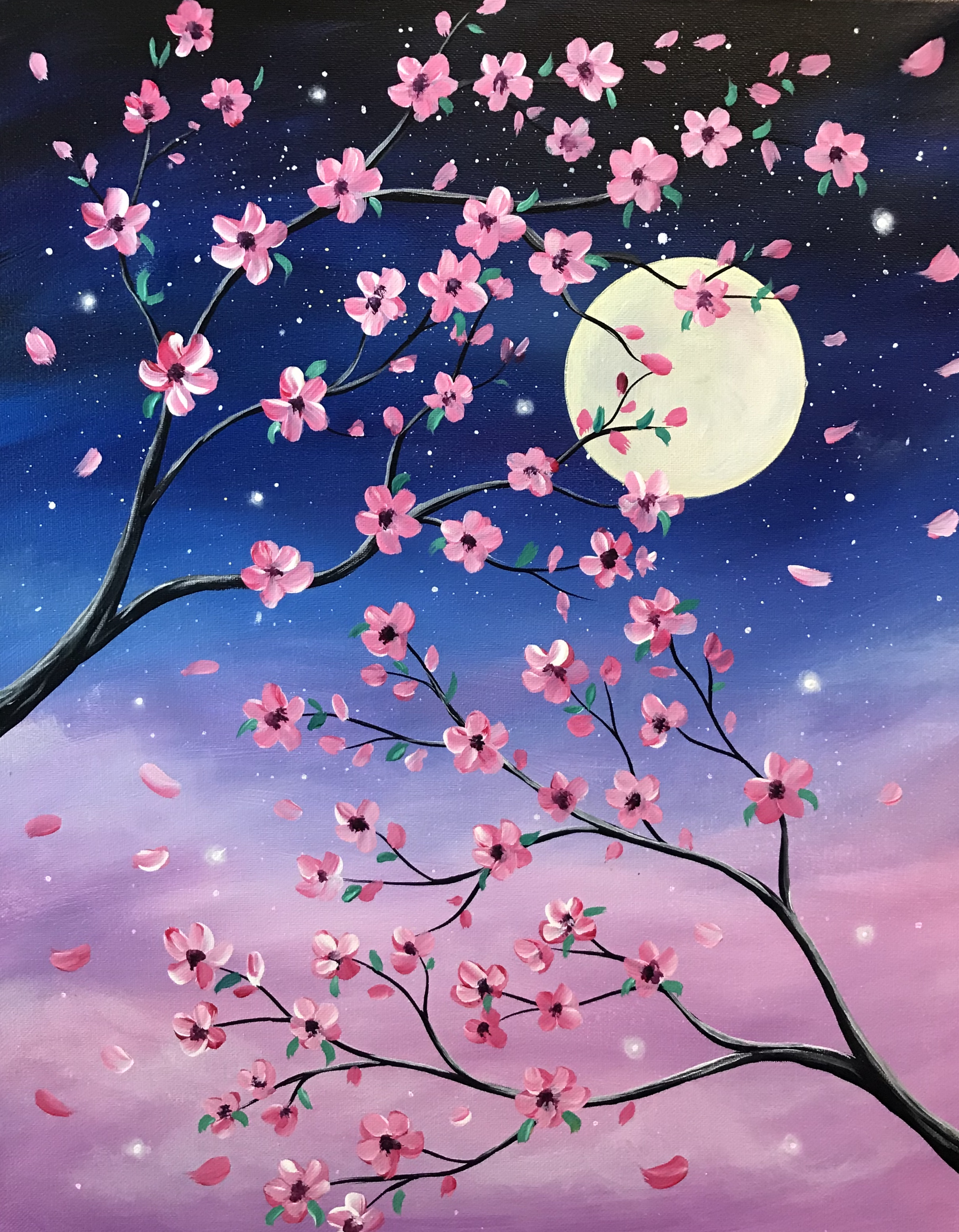 A Cherry Blossom Sky experience project by Yaymaker
