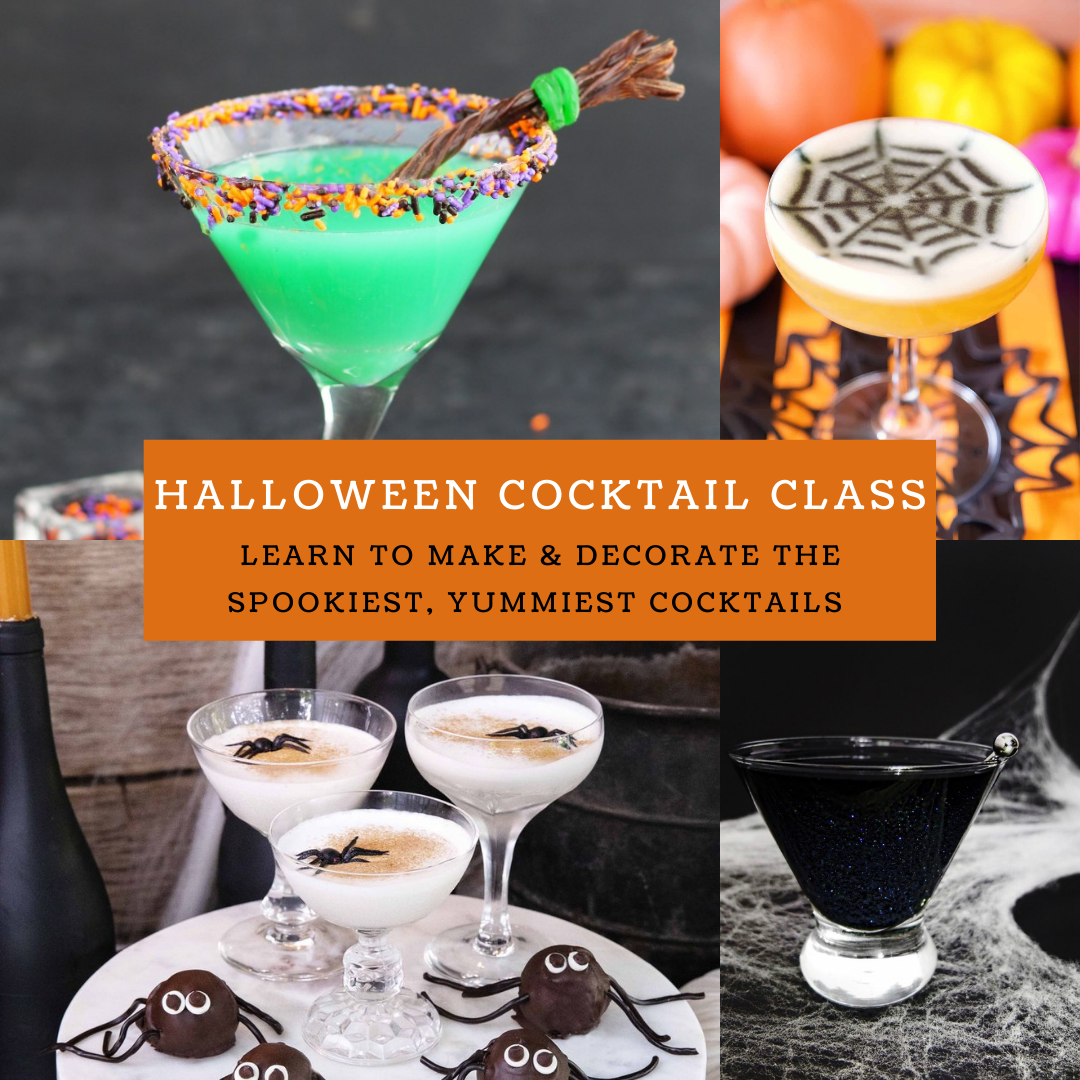 A Halloween Cocktail Class experience project by Yaymaker