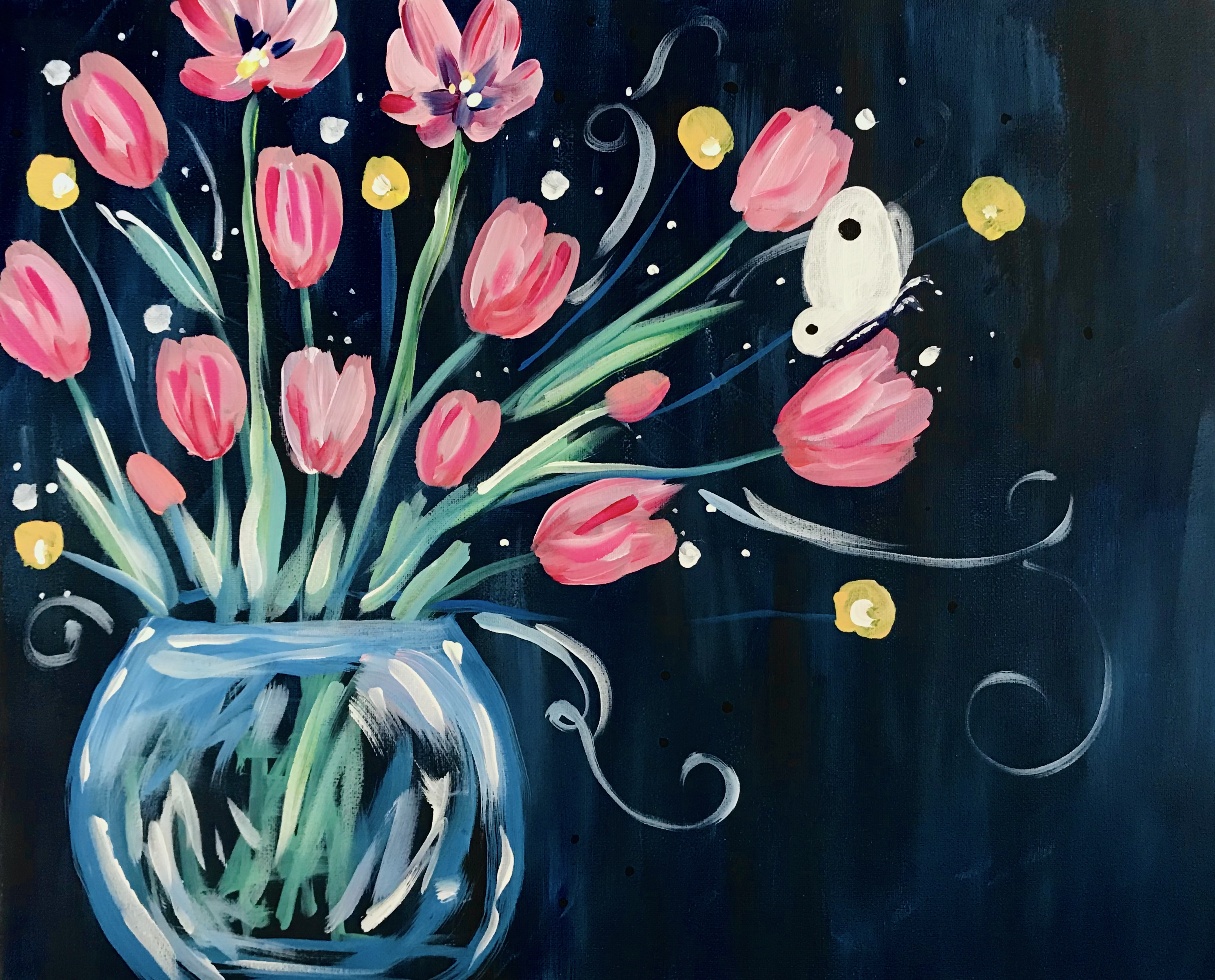 A Tulip Bowl Butterfly experience project by Yaymaker