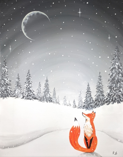 A Moonlit Winter Fox experience project by Yaymaker