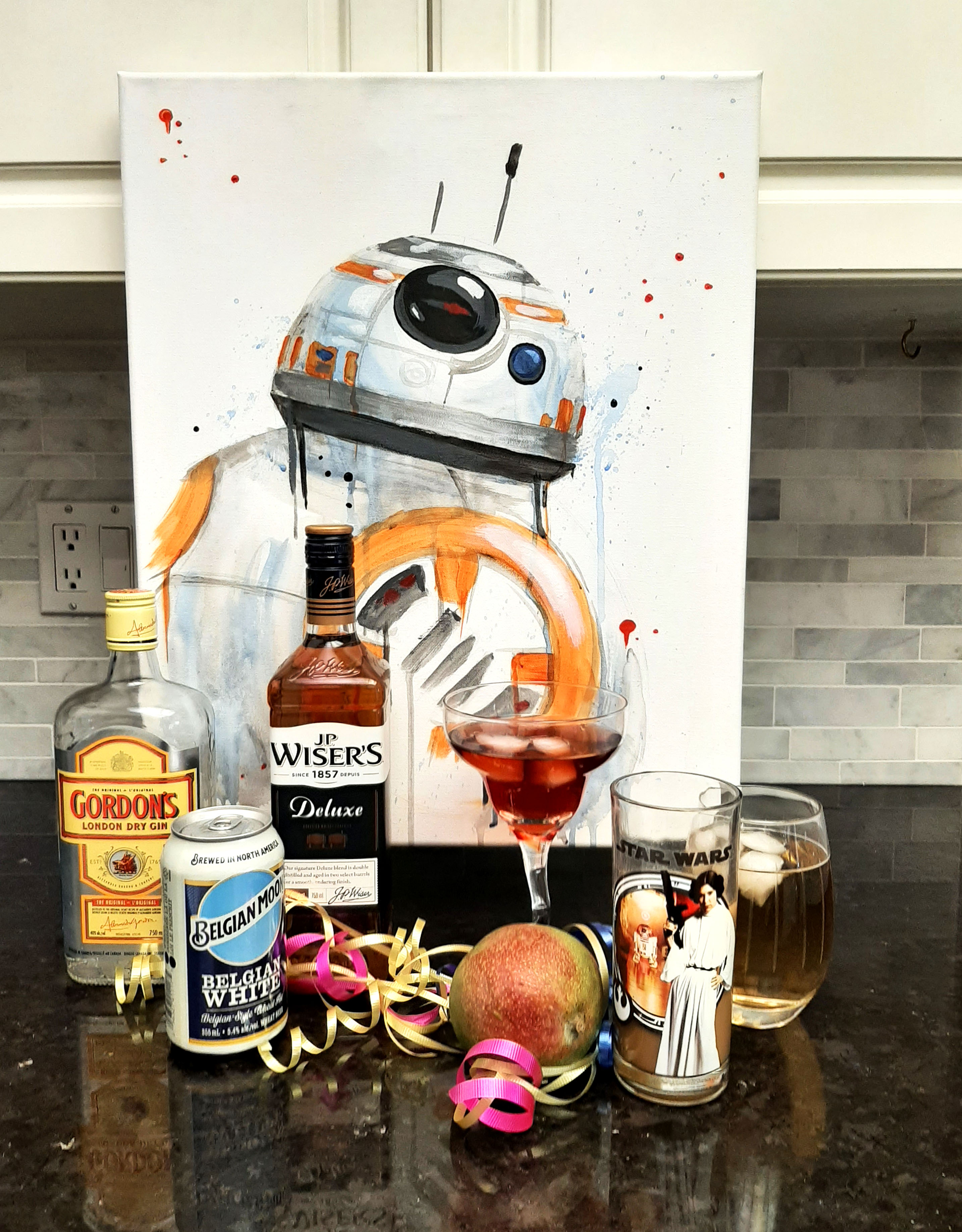 A BB8 Painting and Mixology experience project by Yaymaker