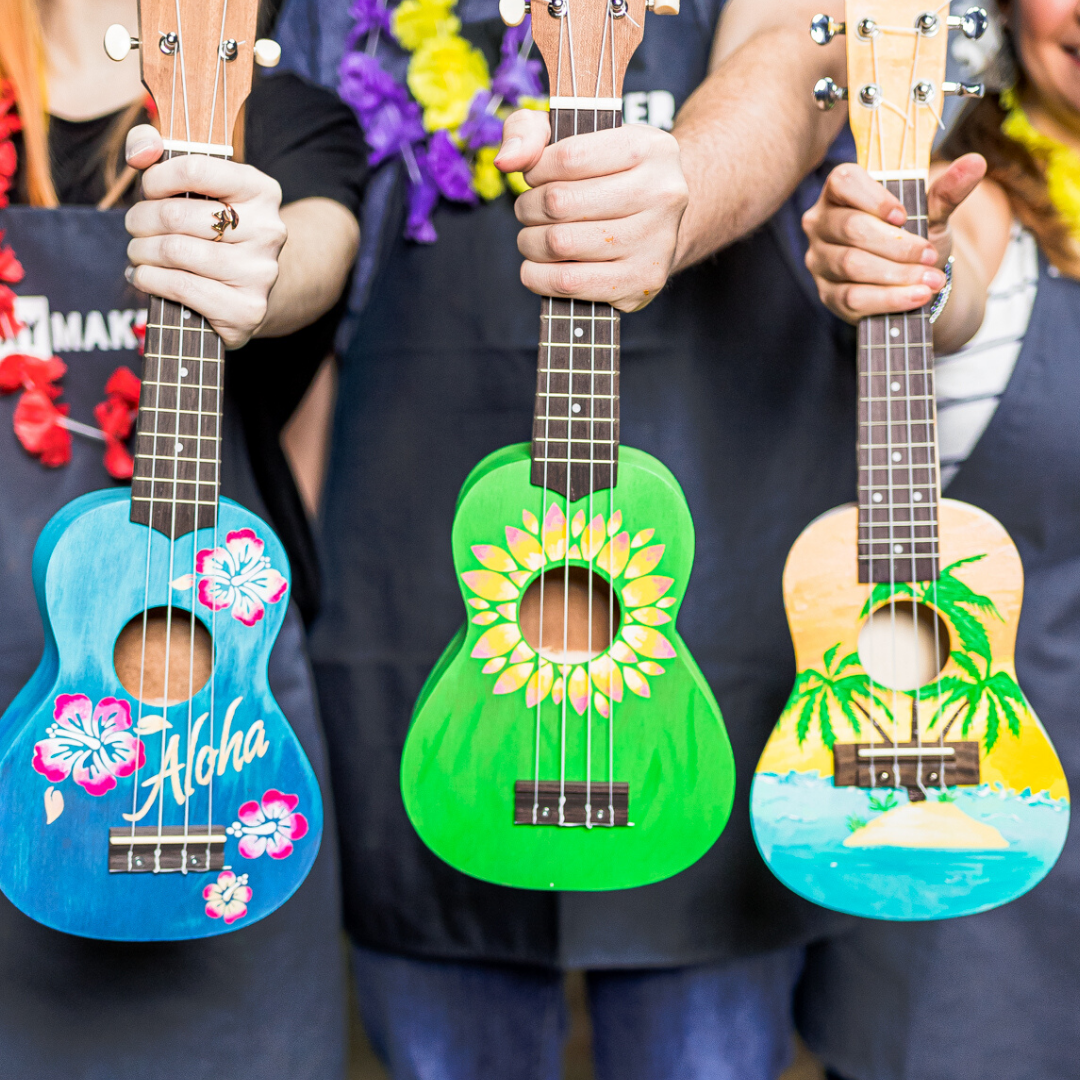 A Create a Ukulele Pick your design experience project by Yaymaker