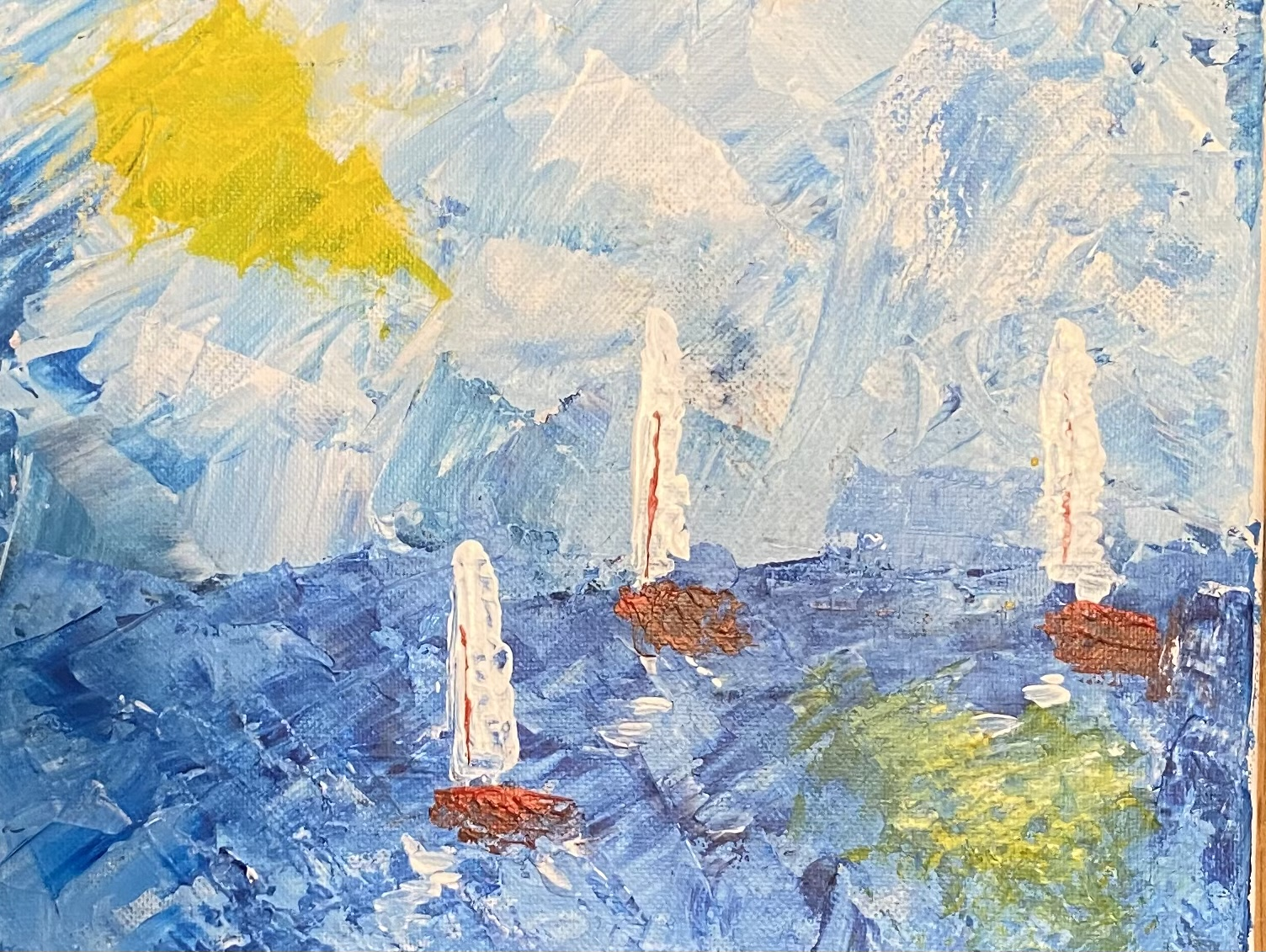 A Abstract Sailing Away experience project by Yaymaker
