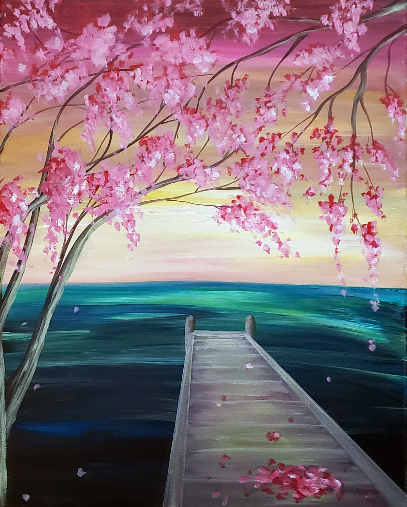 A Spring Dock Blossoms experience project by Yaymaker