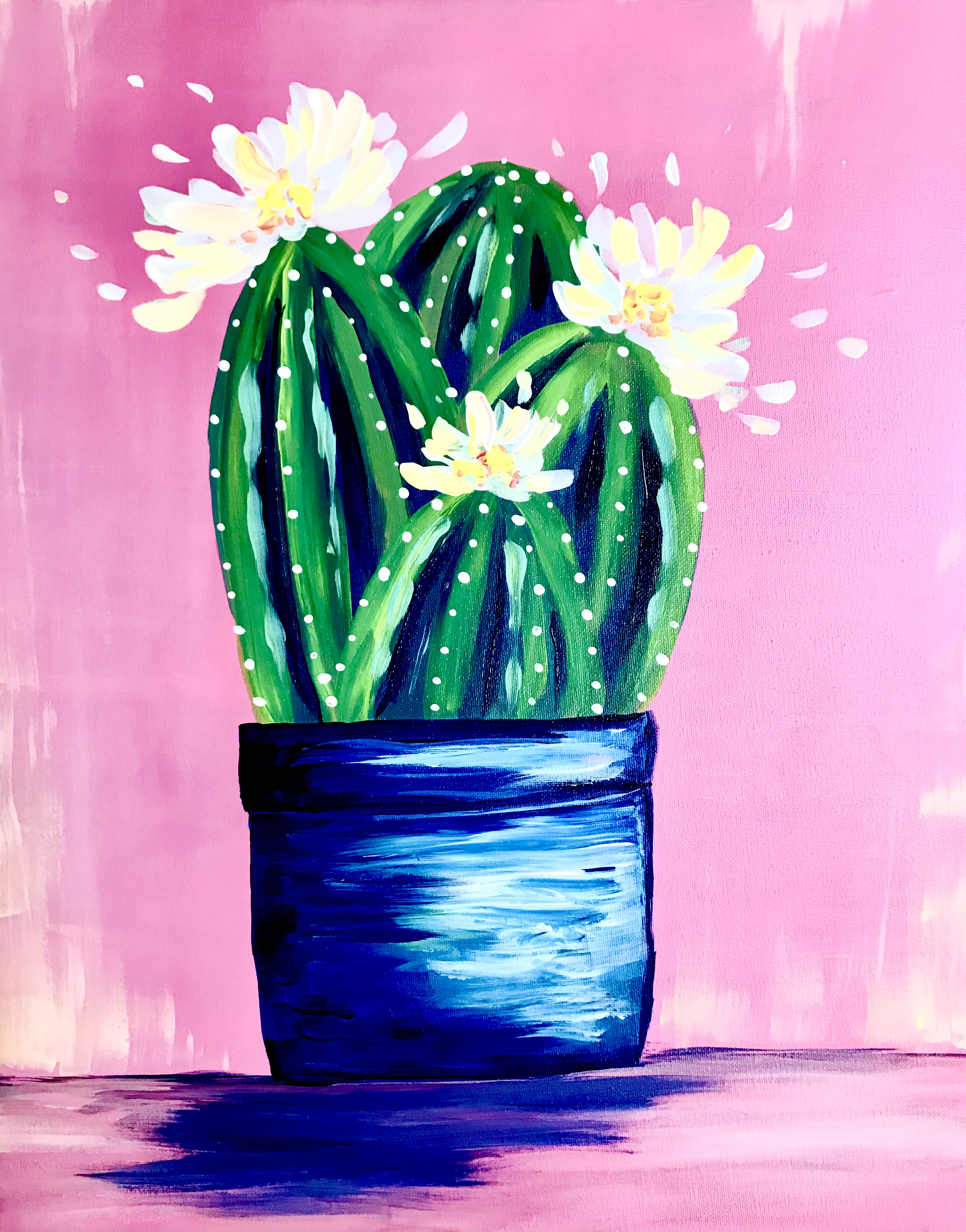 A Blooming Cactus Pot experience project by Yaymaker