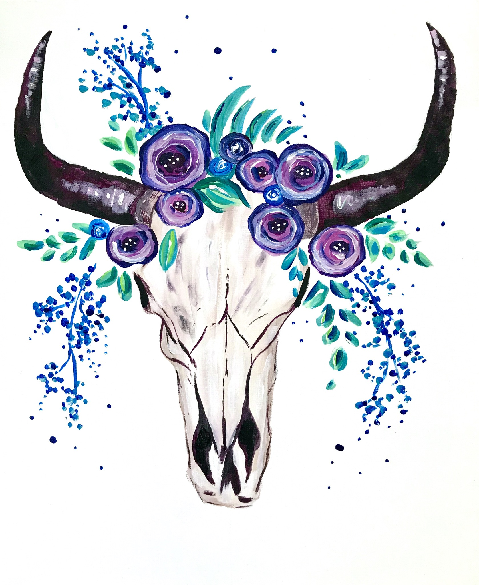 A Bull Skull Blossoms experience project by Yaymaker