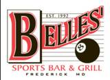 A photo of a Yaymaker Venue called Belles Sports Bar & Grill located in Frederick, MD