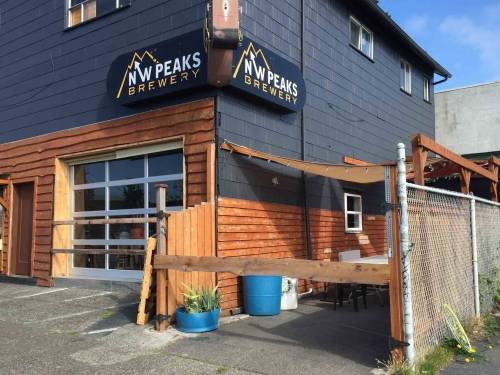 A photo of a Yaymaker Venue called NW Peaks Brewing (The Bergschund) located in Seattle, WA