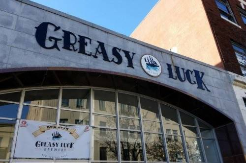 A photo of a Yaymaker Venue called Greasy Luck: The Vault at Greasy Luck Brewpub located in New Bedford, MA