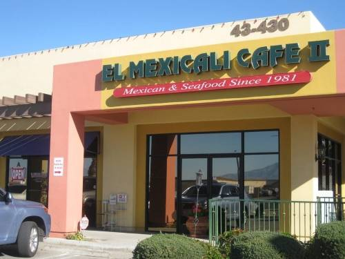 A photo of a Yaymaker Venue called El Mexicali Cafe ll located in Indio, CA